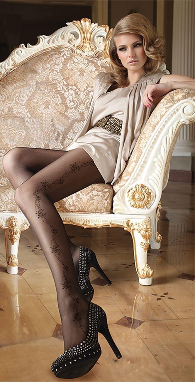 veneziana calze lolita телесные чулки с бантиками на задней поверхности Чулки с рисунком телесные (3-4)