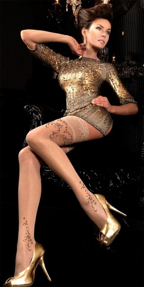 veneziana calze lolita телесные чулки с бантиками на задней поверхности Парфюмированные чулки телесные (3-4)