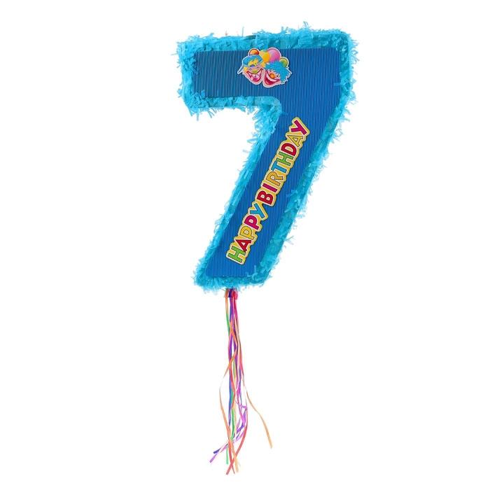 Пиньята 7 лет (UNI) -  Все для праздника