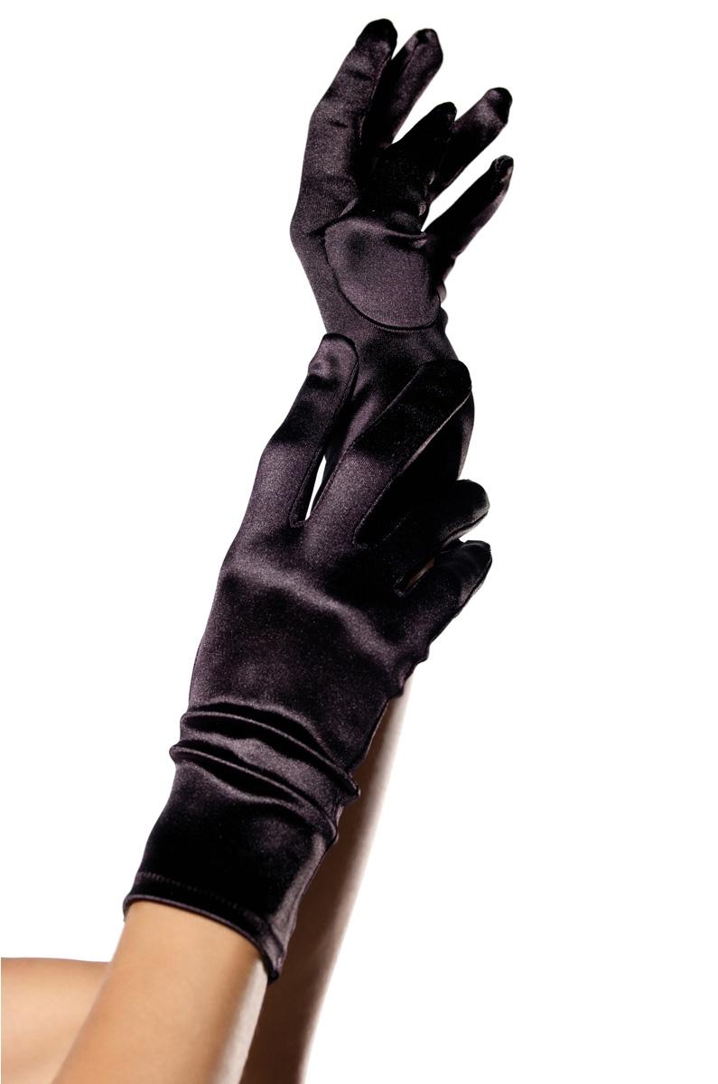 Черные перчатки для костюмов (UNI) - Перчатки и рукава