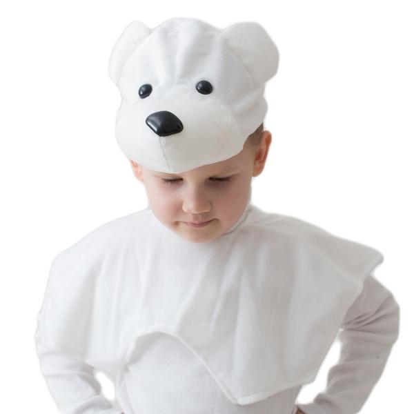Костюм Белый мишка эконом (UNI) -  Животные и зверушки