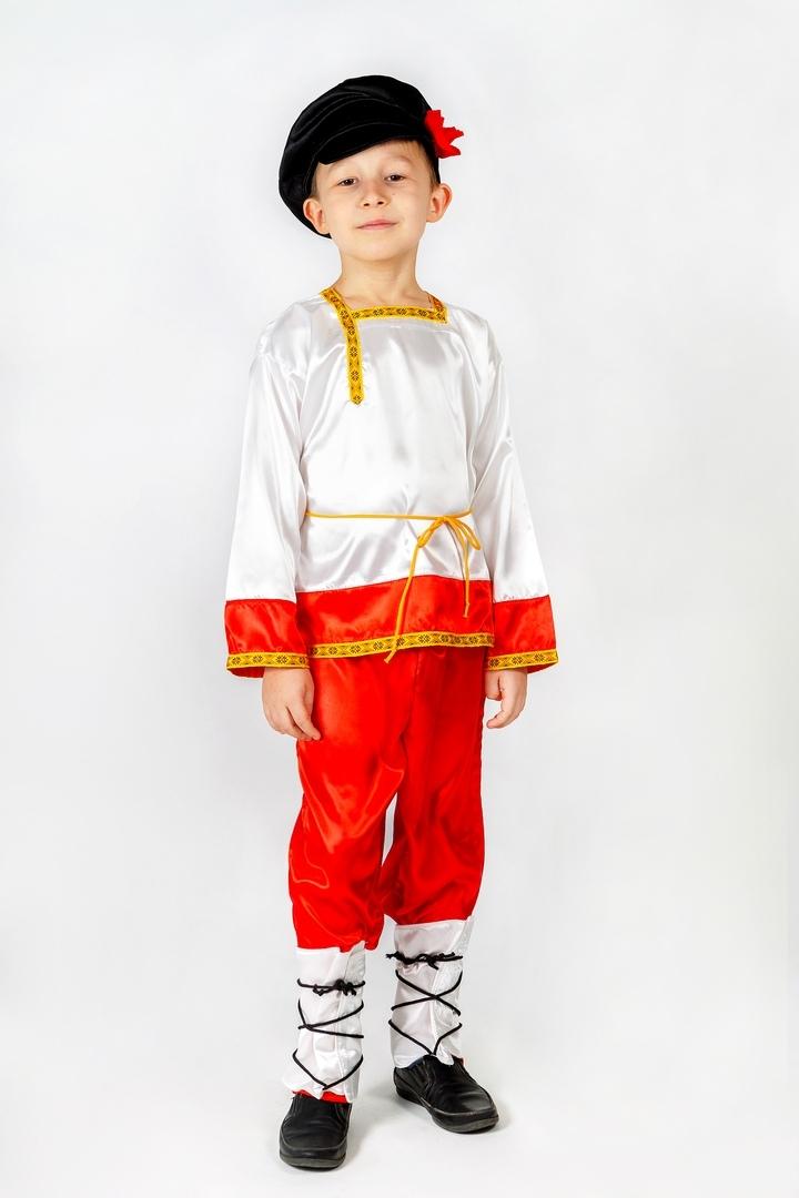 Костюм Ванюши (32-34) детский костюм озорного клоуна 34