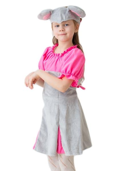 Костюм розового мышонка (32-34) детский костюм озорного клоуна 34