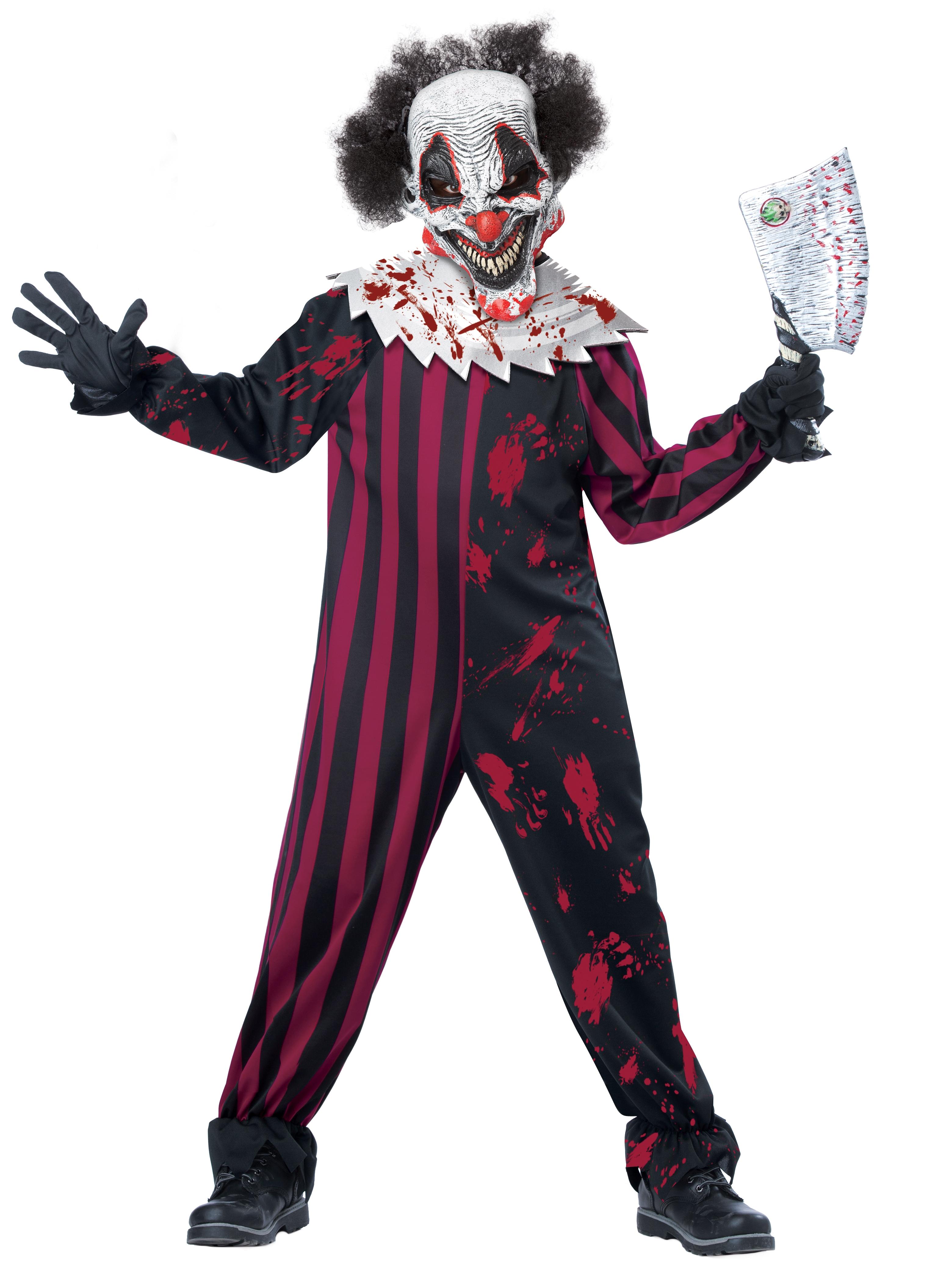 Детский Костюм Страшного Клоуна (38-40) детский костюм клоуна весельчака 38