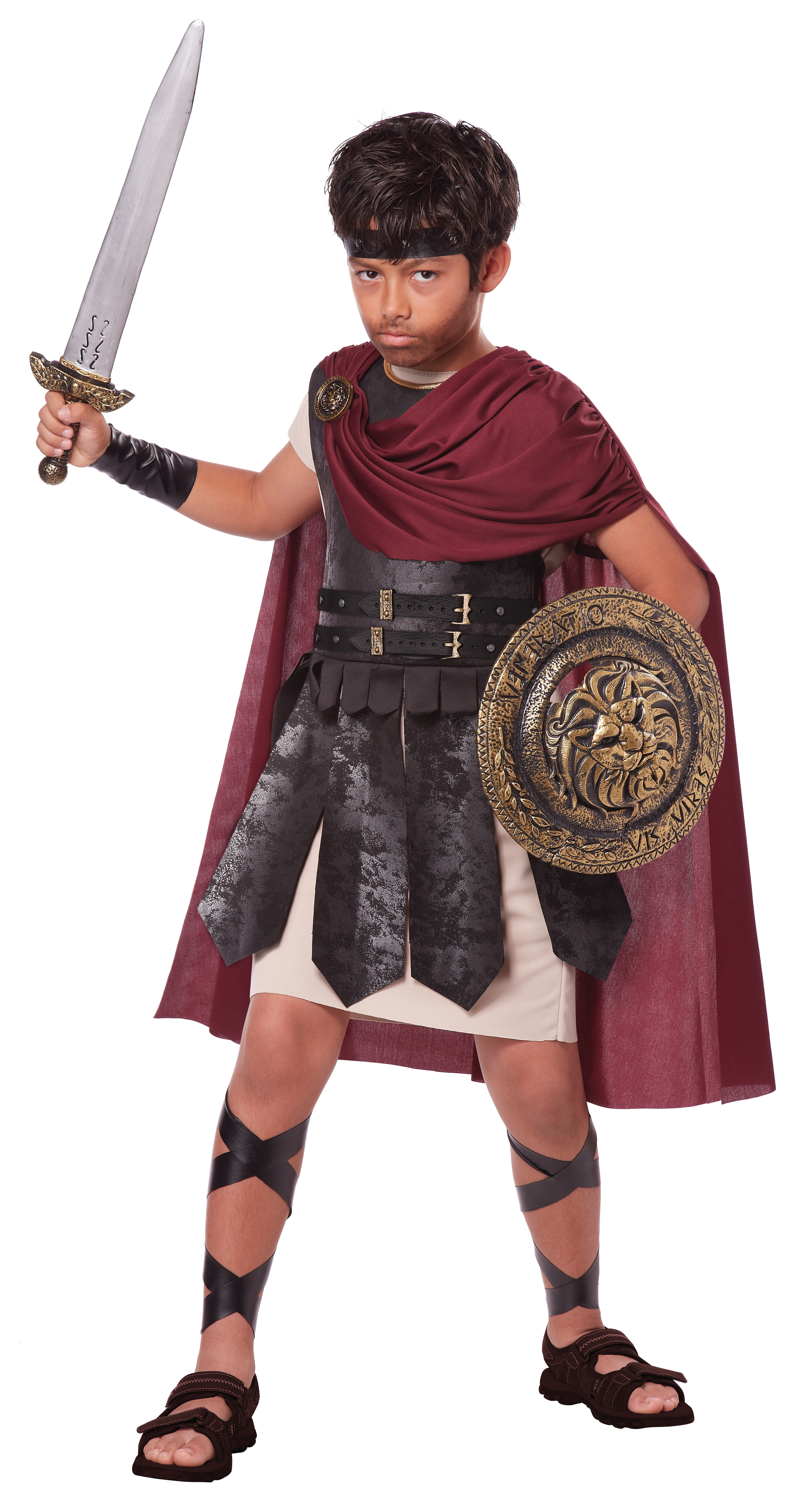 Детский костюм Воина Гладиатора (38-40) костюм римского воина 50 54