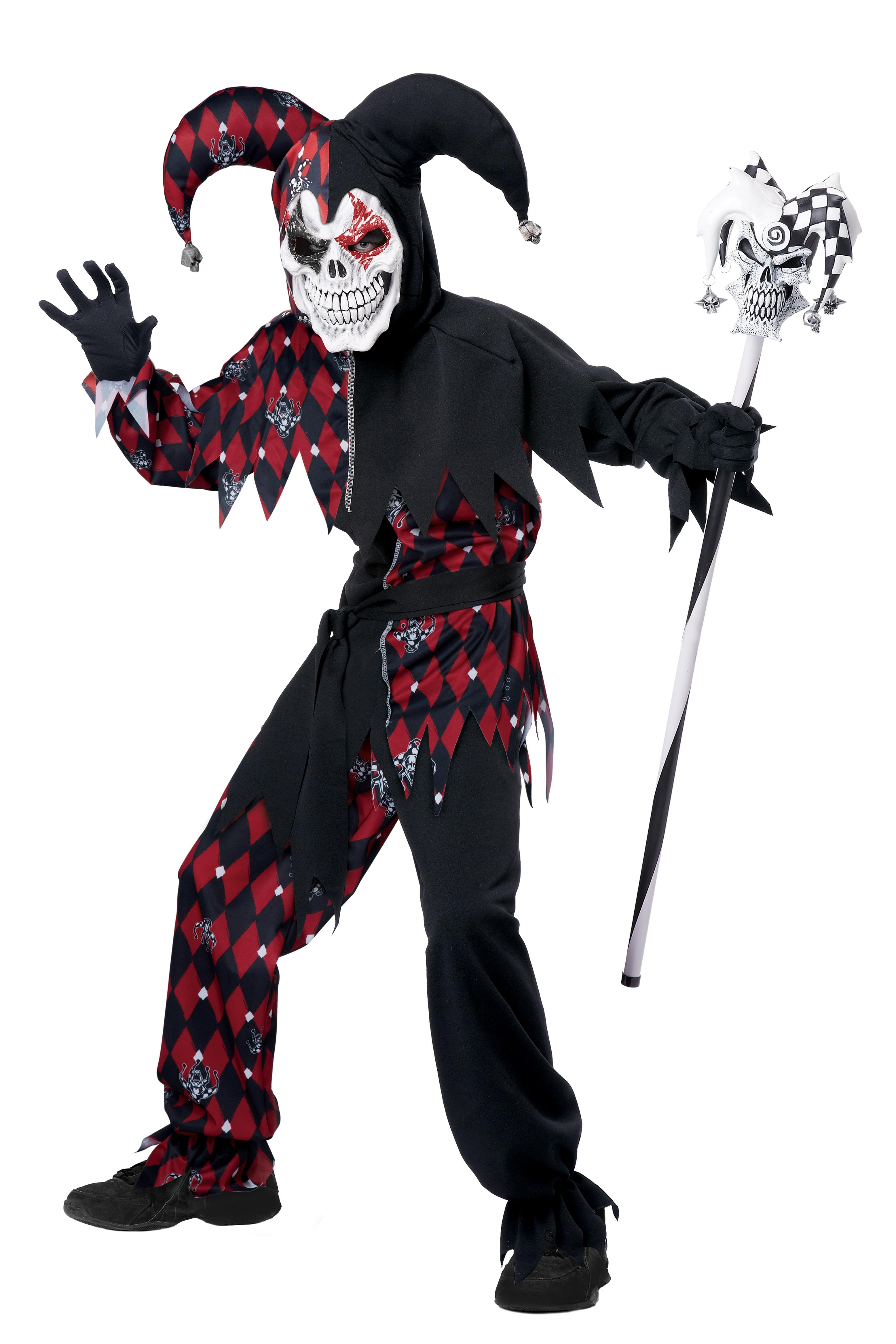 Детский костюм Злобного Джокера (38-40) детский костюм жуткого клоуна 38 40