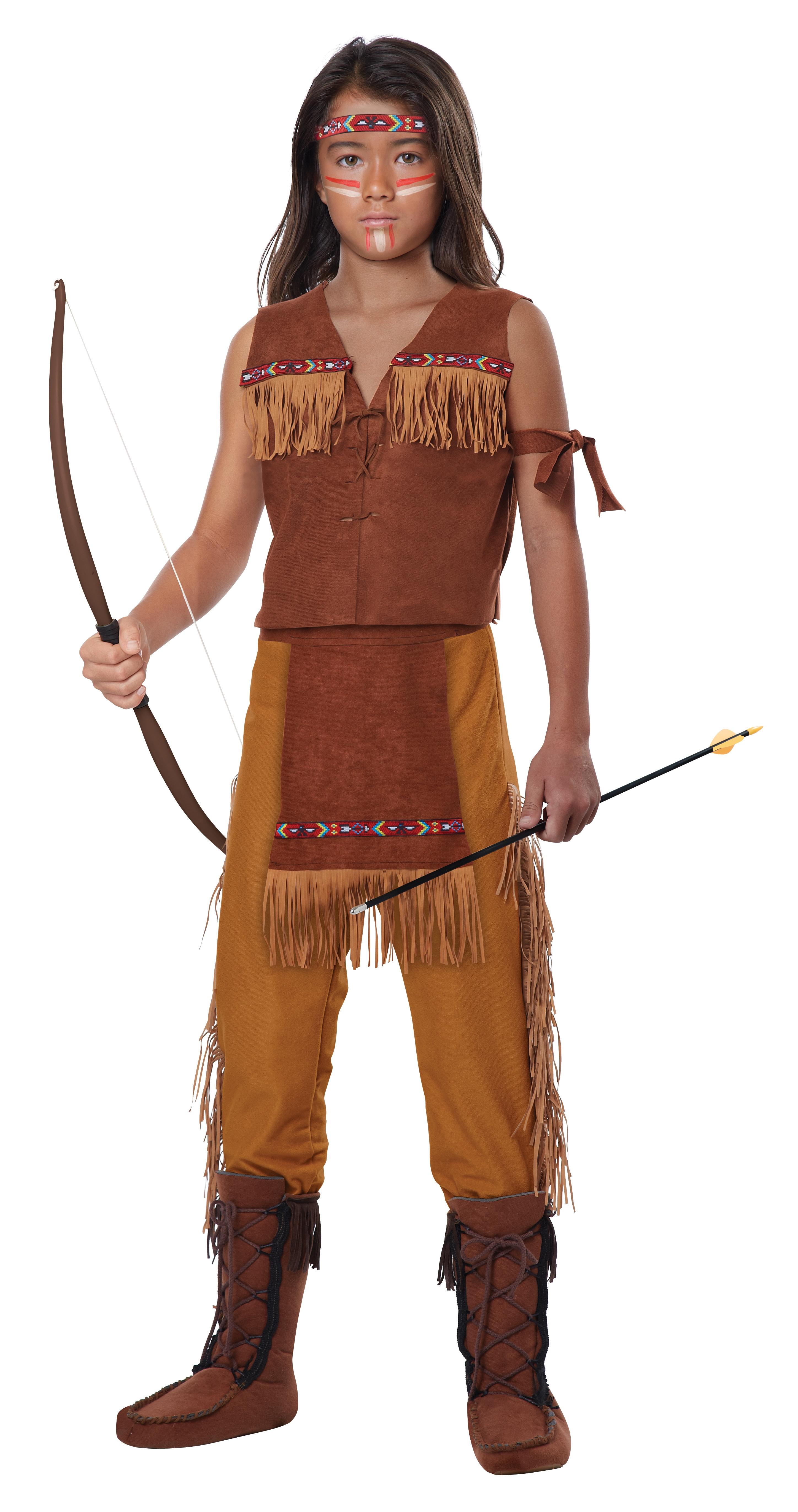 Детский костюм Индейского Юноши (34-36) повязки на голову modniki комплект повязок
