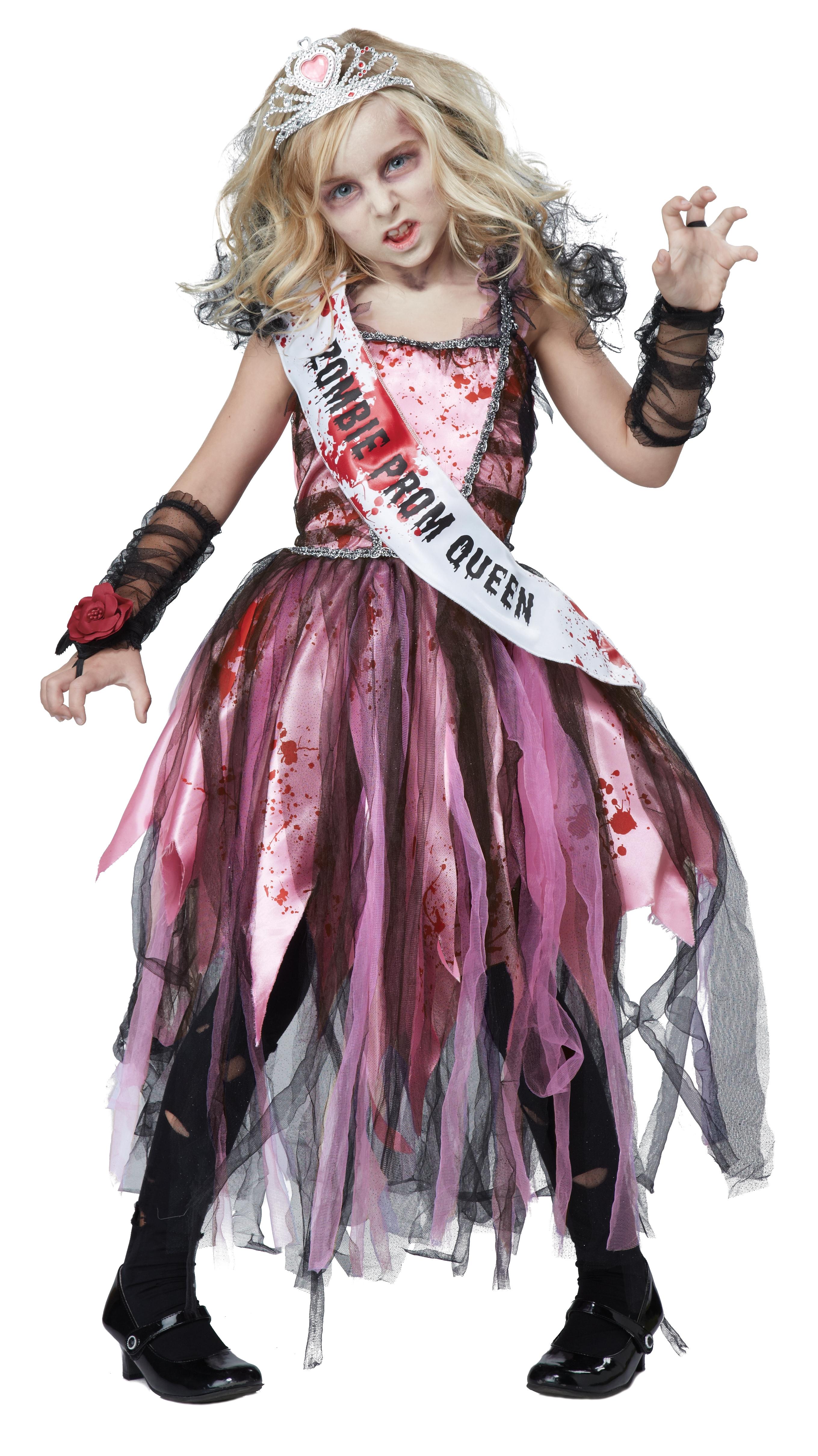 Детский костюм Зомби Выпускницы (32-34) детский костюм джульетты 32 34