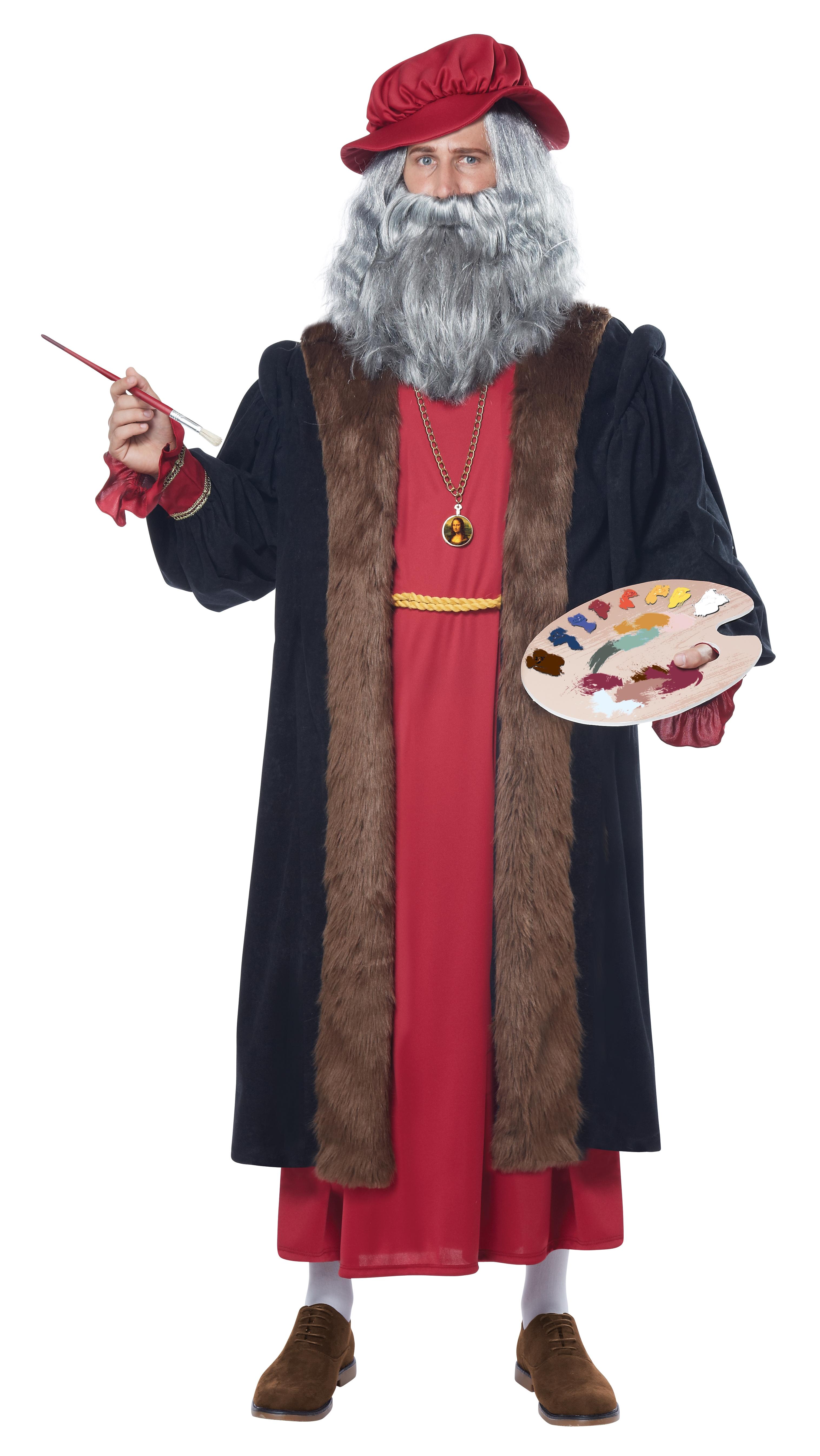 Костюм Леонардо да Винчи (48-52) -  Исторические костюмы