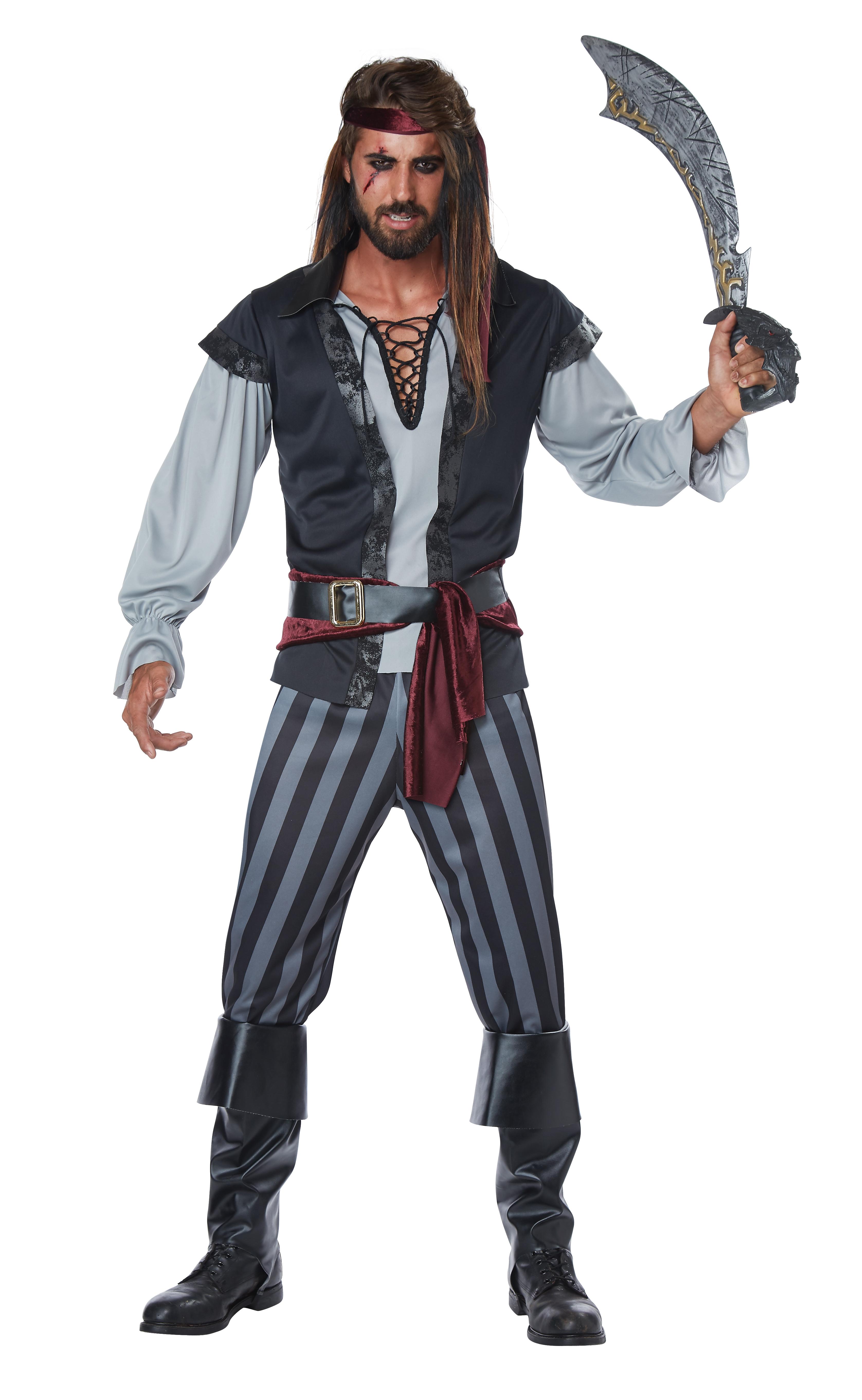 Костюм Жуткого Пирата (46-48) костюм радужной клоунессы 46 48
