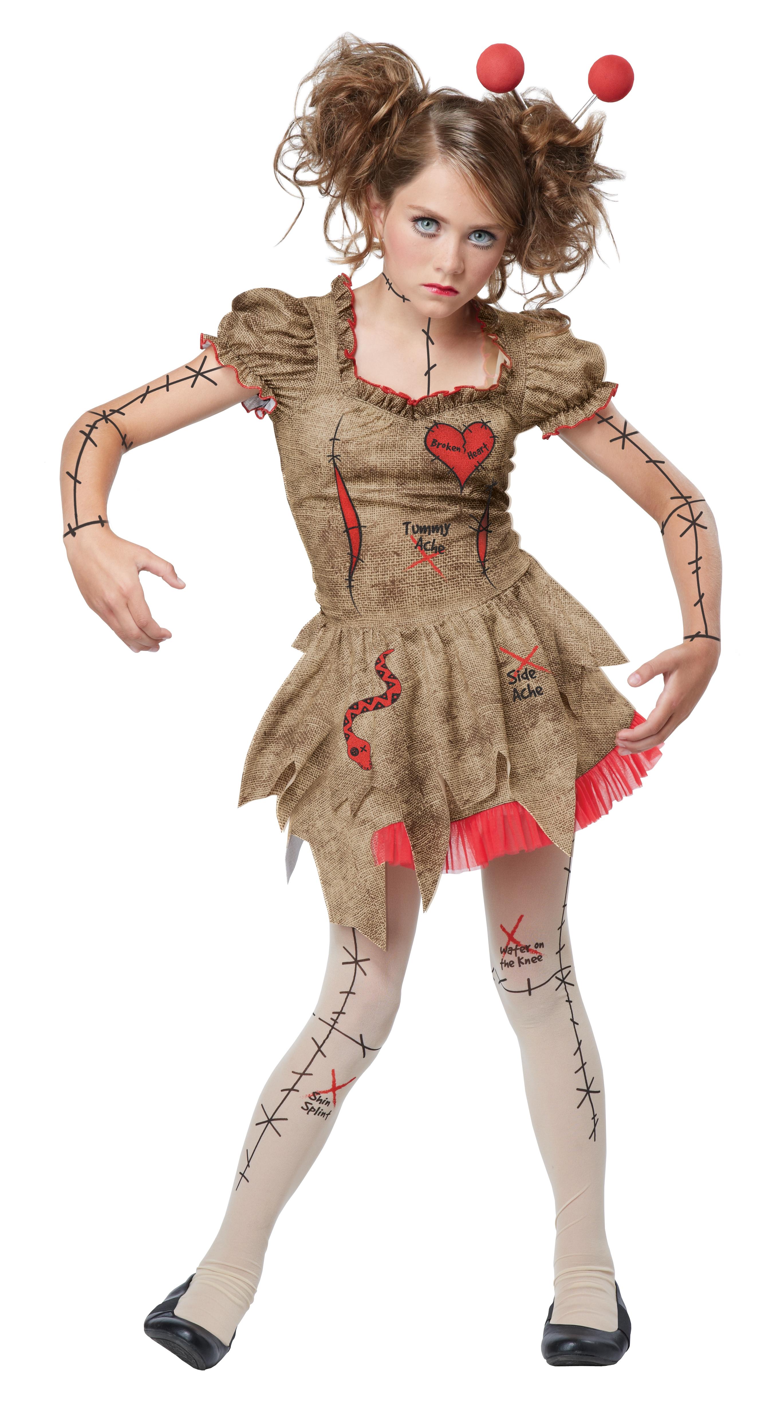 Костюм Куклы Вуду (32-34) детский костюм озорного клоуна 34