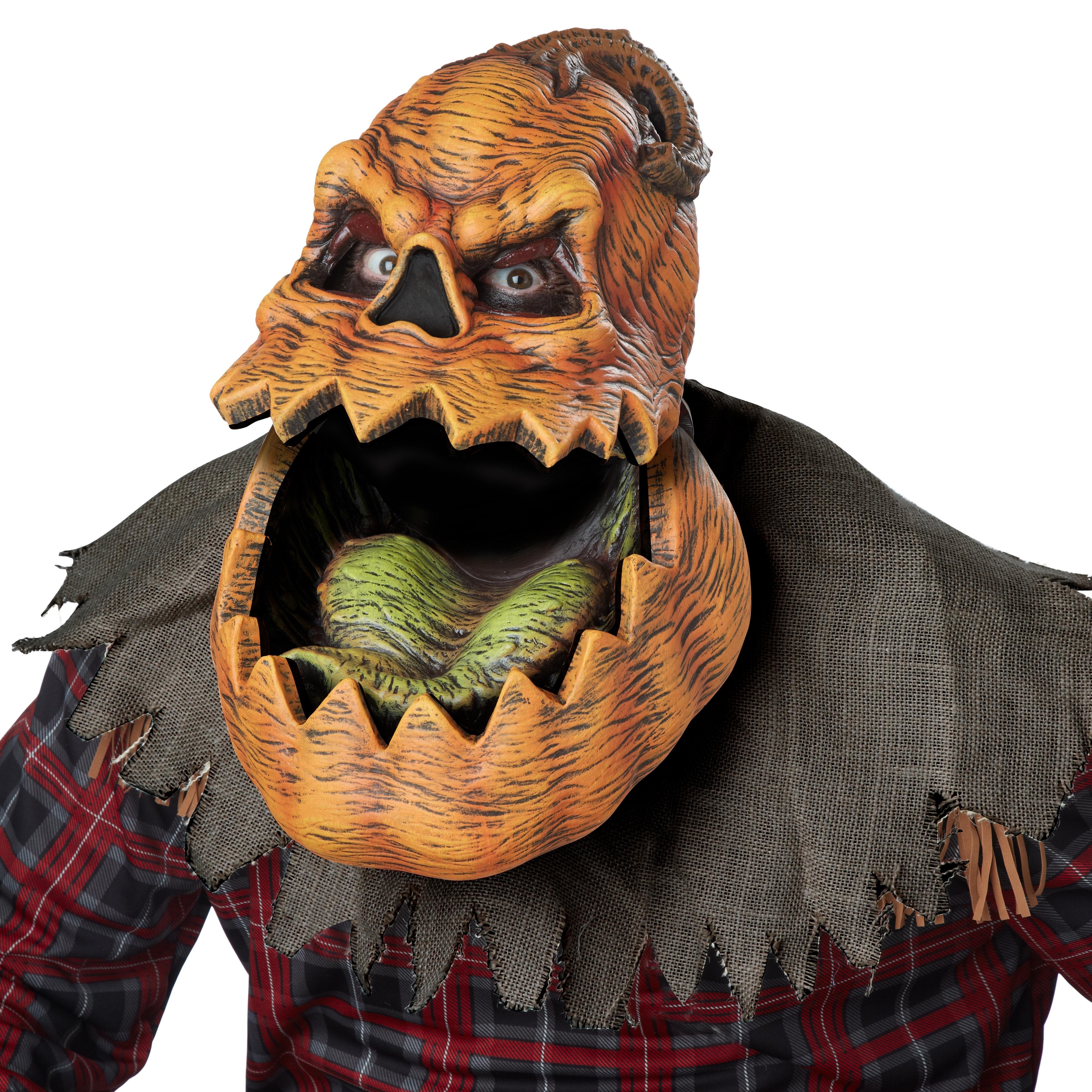 Маска Страшной Тыквы (UNI) -  Карнавальные маски