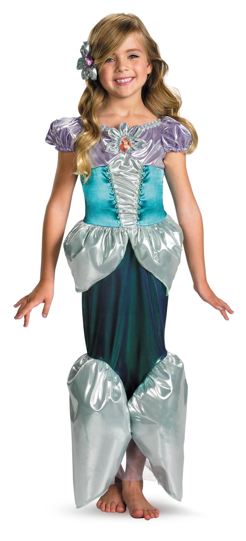 Детский костюм Русалки Ариэль (32-34) детский костюм джульетты 32 34