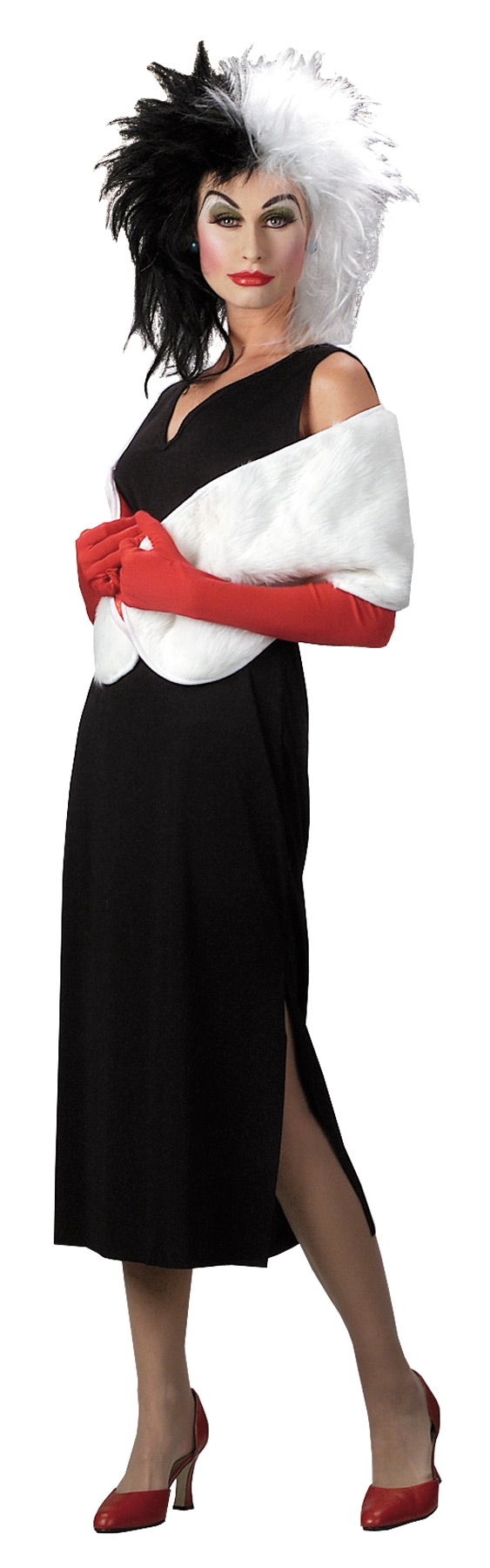 Костюм Круэллы (46-48) костюм радужной клоунессы 46 48