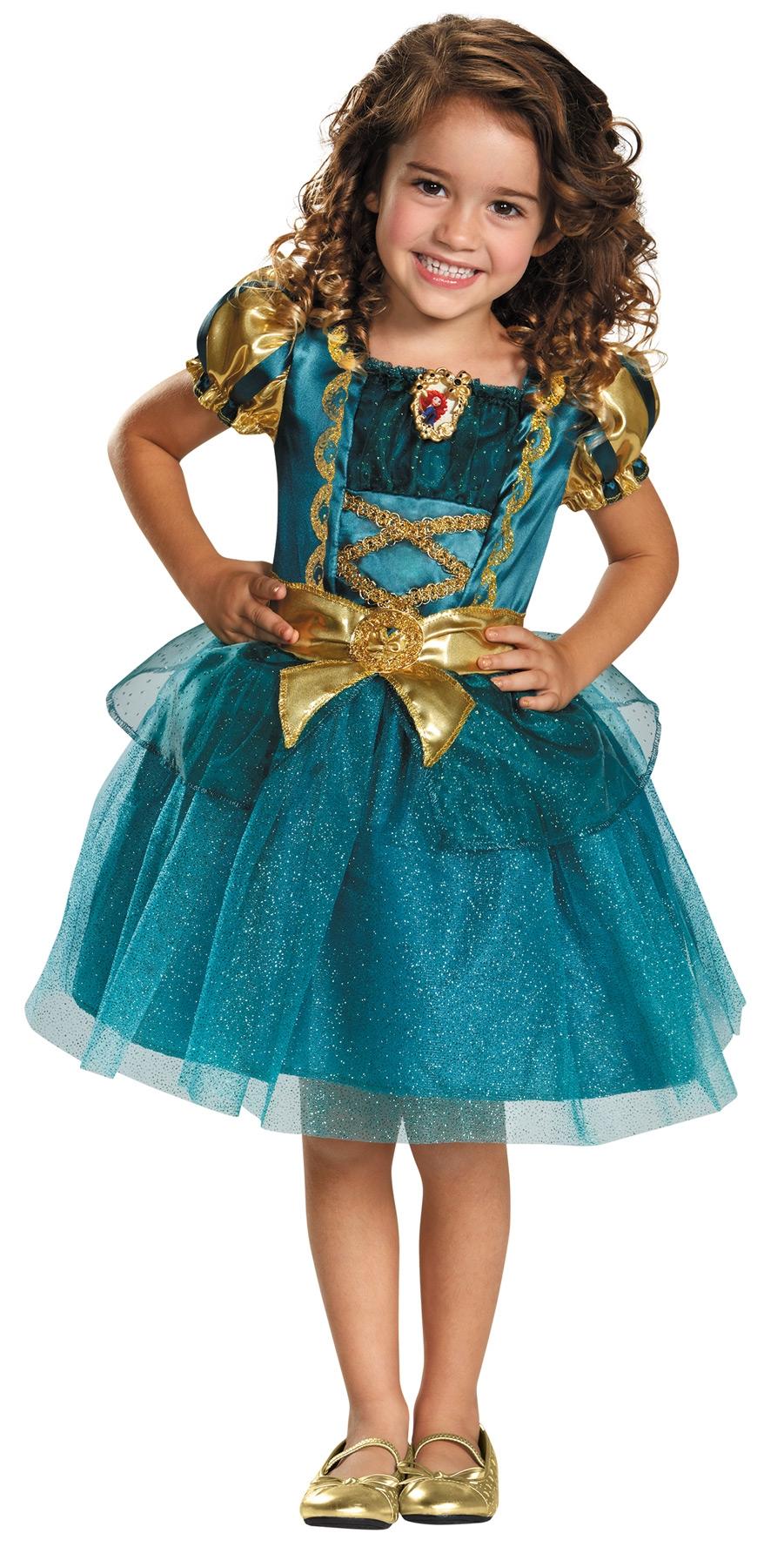 Детский костюм принцессы Мериды (28-32) детский костюм озорного клоуна 34