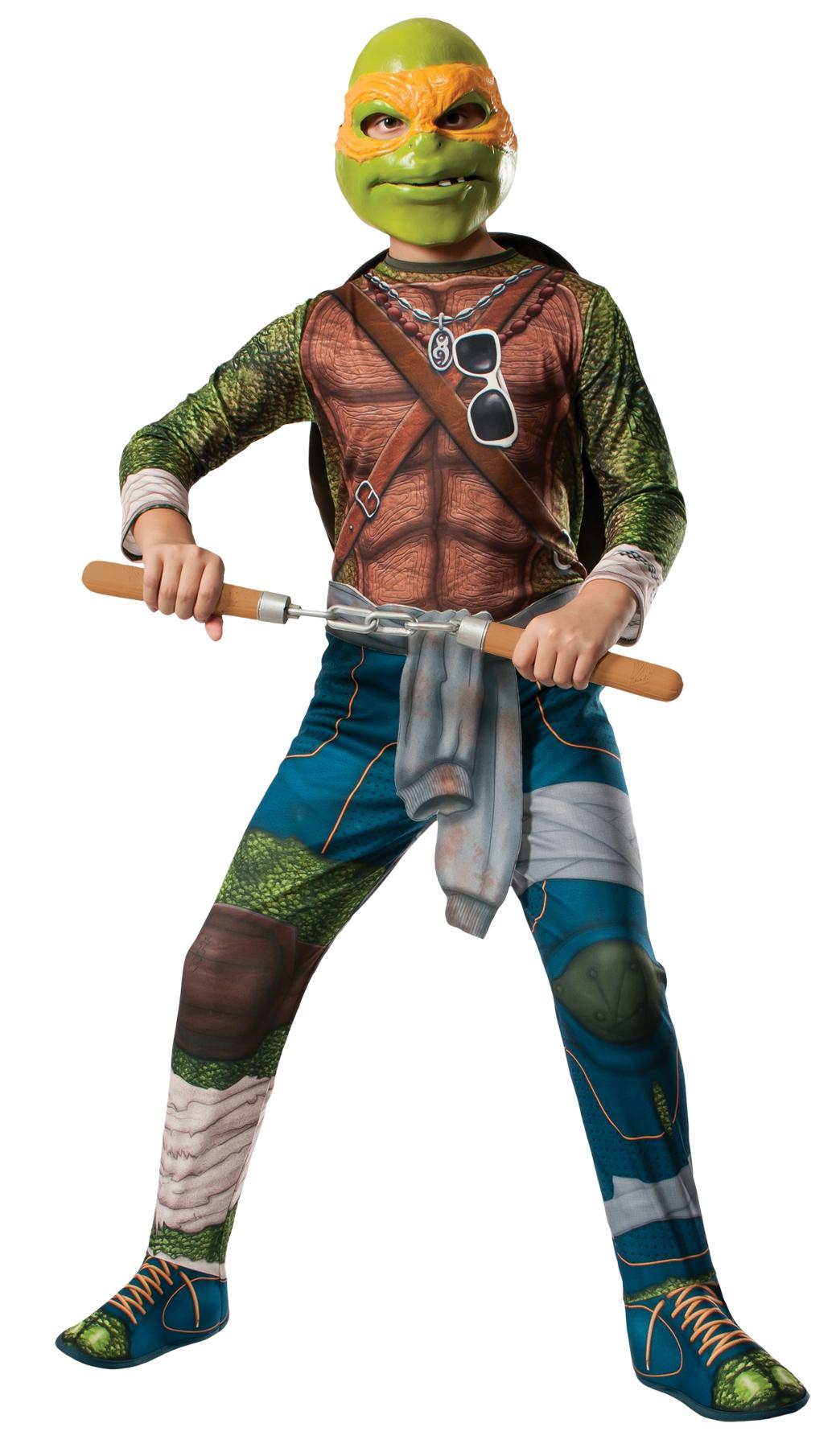 Костюм Черепашки-ниндзя Микеланджело (UNI) rubies карнавальный костюм черепашки ниндзя рафаэль