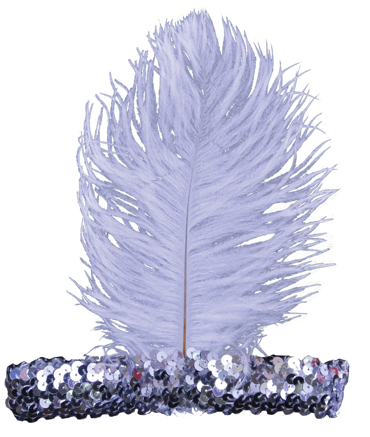 Серебряная повязка на волосы (UNI) -  Аксессуары на карнавал