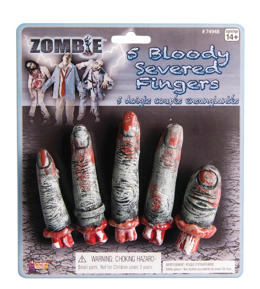 Декоративные пальцы (UNI) -  Аксессуары на Хэллоуин