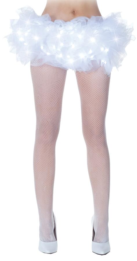 Белый светящийся подъюбник (44-46) -  Подъюбники и юбки