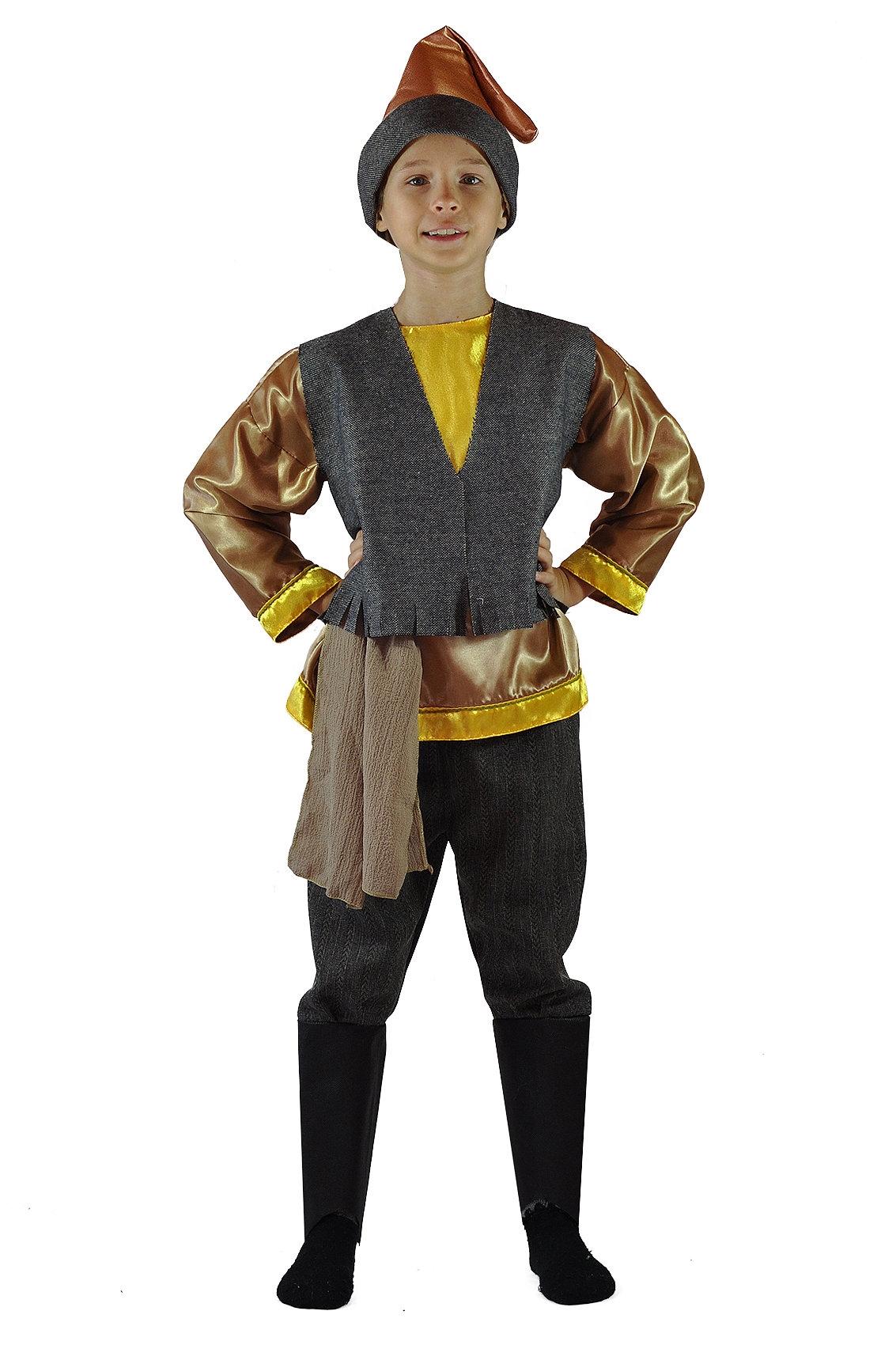 Детский костюм Мальчика Домовенка (34) приключения домовенка кузи и дядюшки ау dvd cd