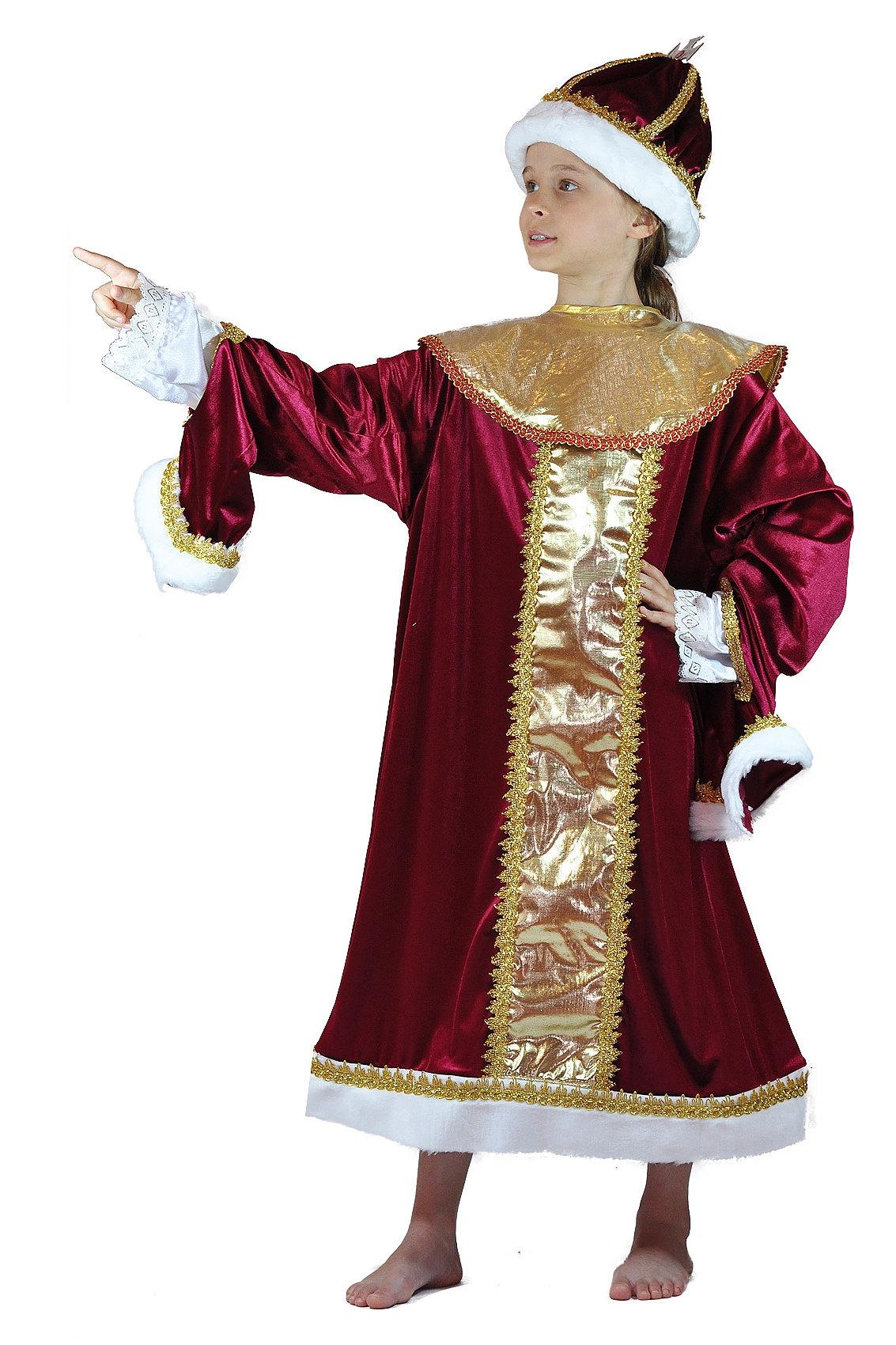 Детский костюм Царя (32) костюм маленькой снежинки 32