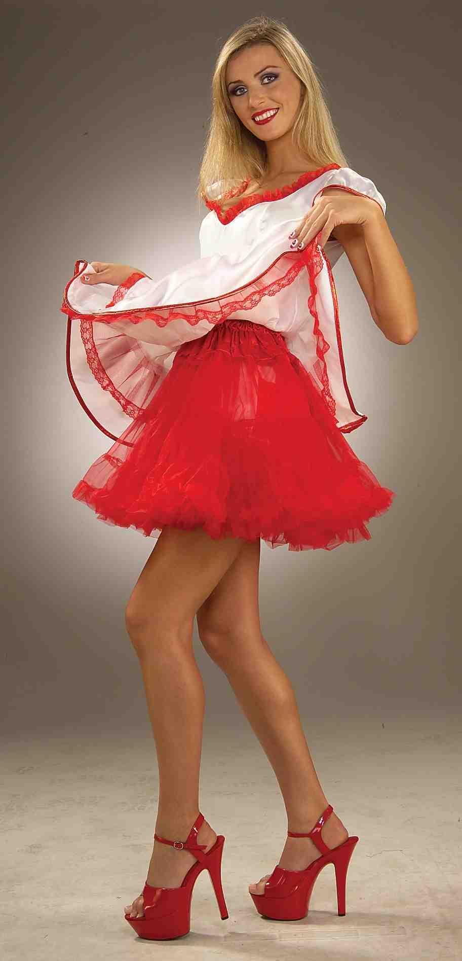 Красный подъюбник для костюмов (46-48) -  Подъюбники и юбки