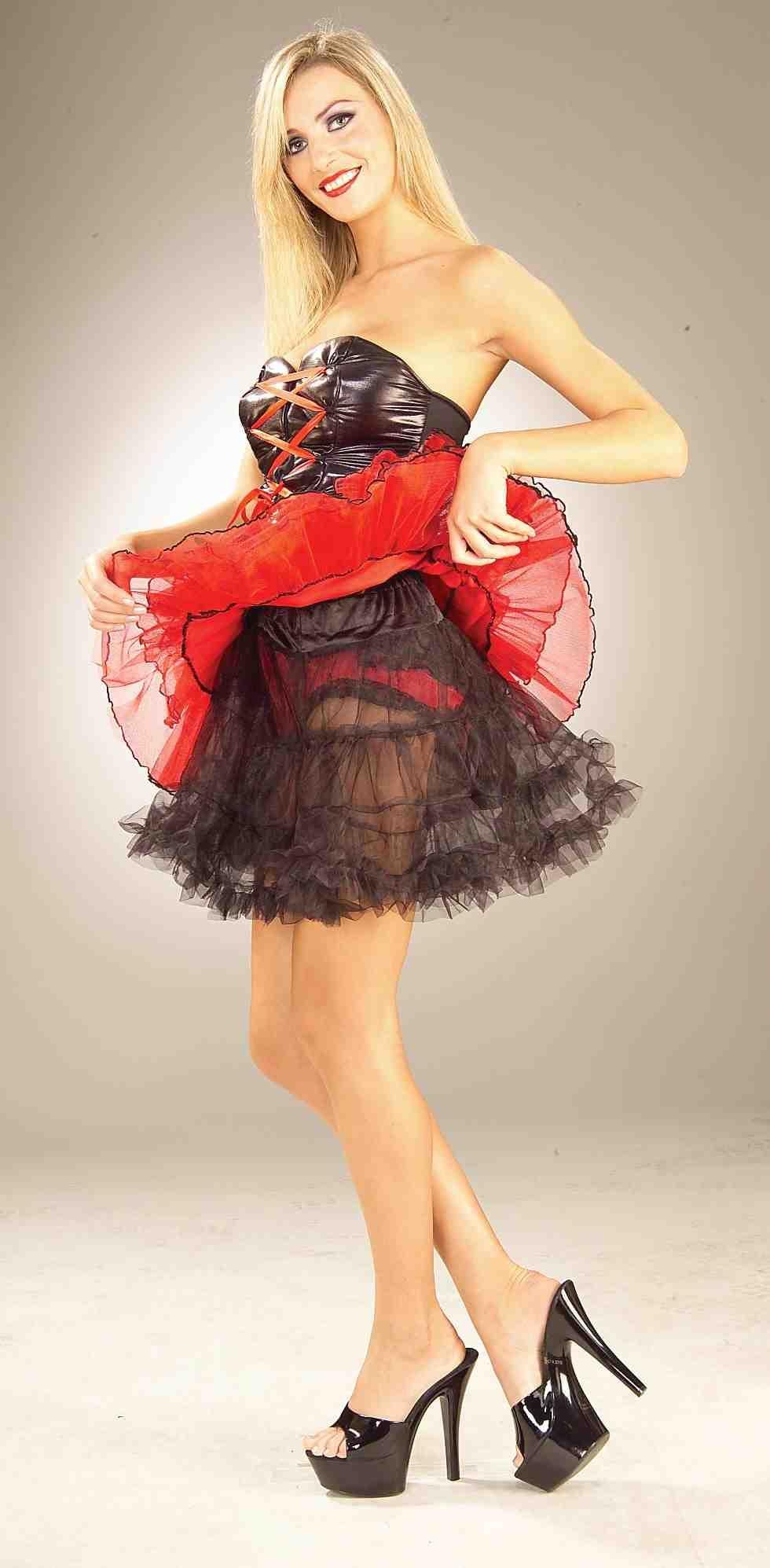 Черный подъюбник для костюмов (46-48) -  Подъюбники и юбки