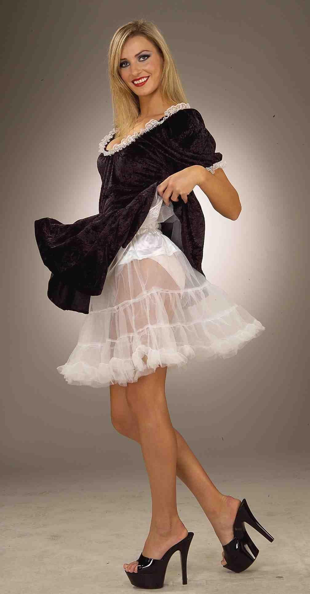 Белый подъюбник для костюмов (46-48) подъюбник accessories трехслойный черный 28см