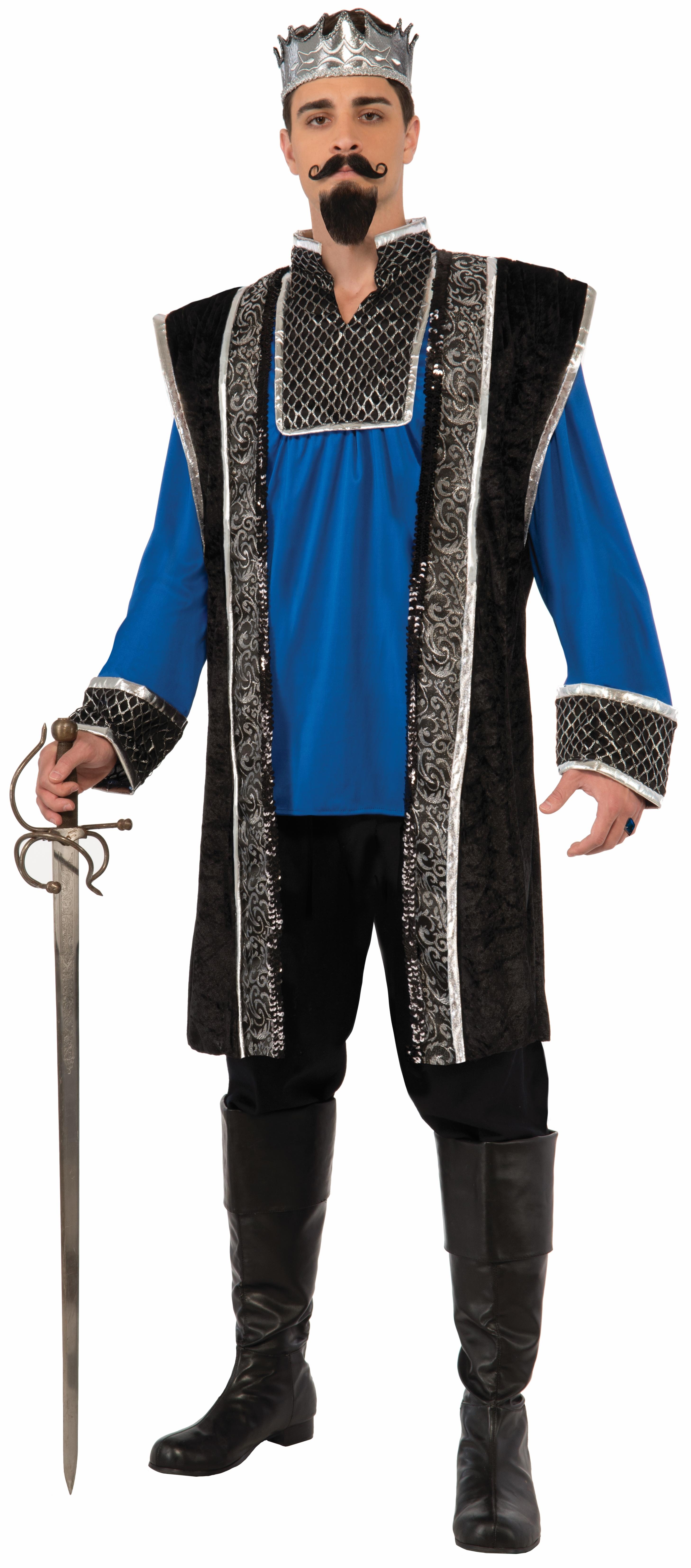 Костюм Синего Короля (52-54) костюм тайного ниндзя 52 54