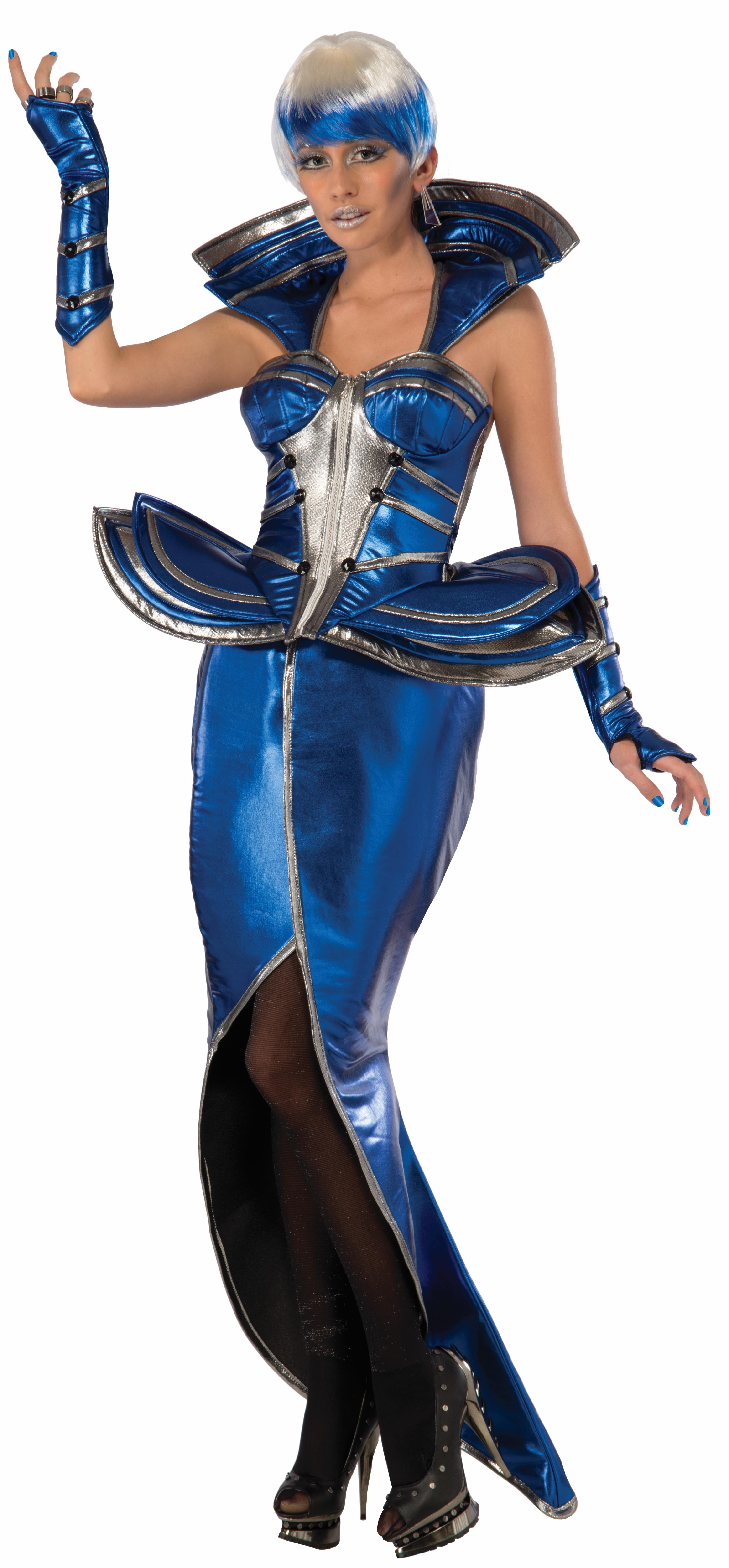 Костюм Инопланетянки (46-48) костюм радужной клоунессы 46 48