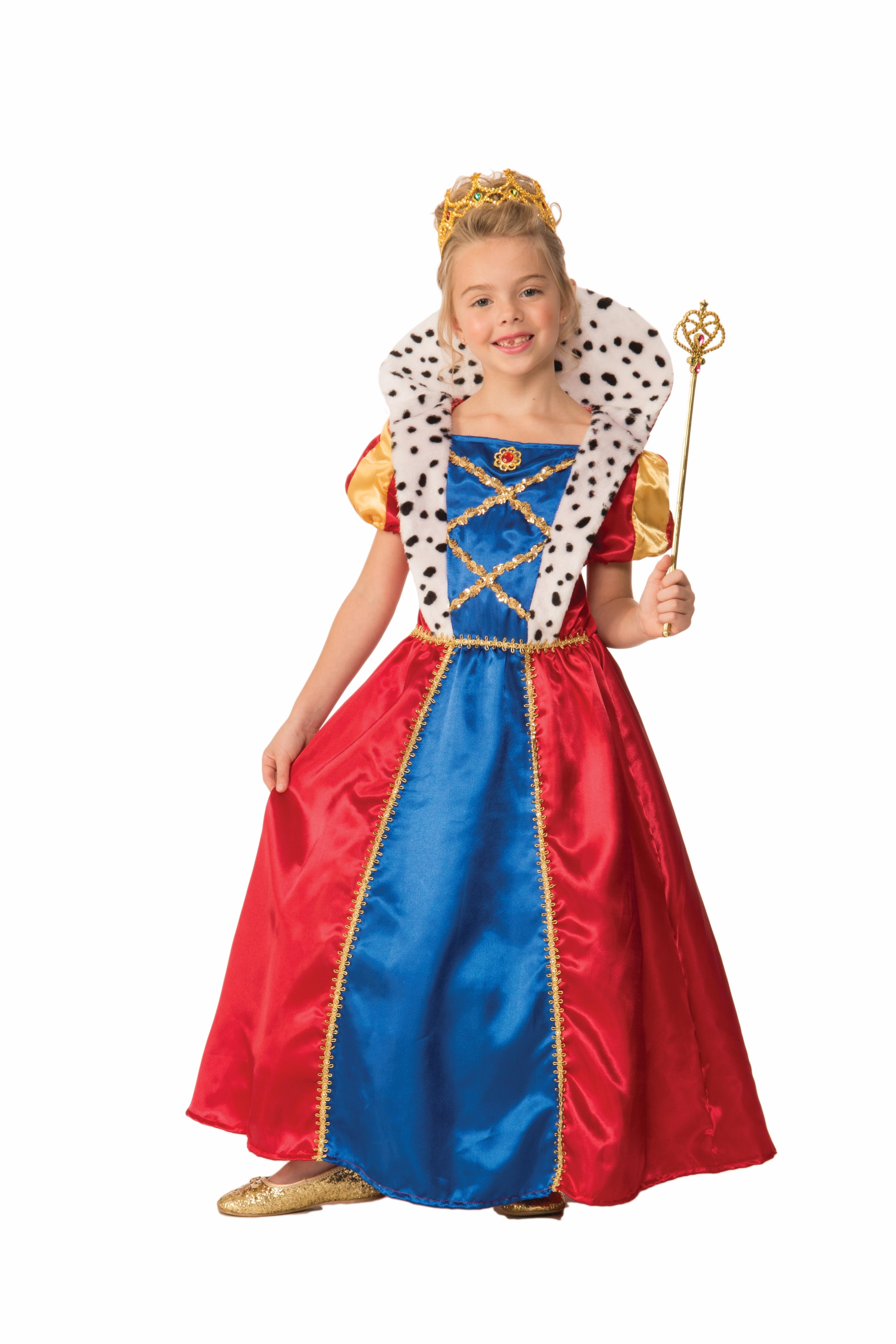 Детский костюм Королевны (38-40) детский костюм клоуна весельчака 38