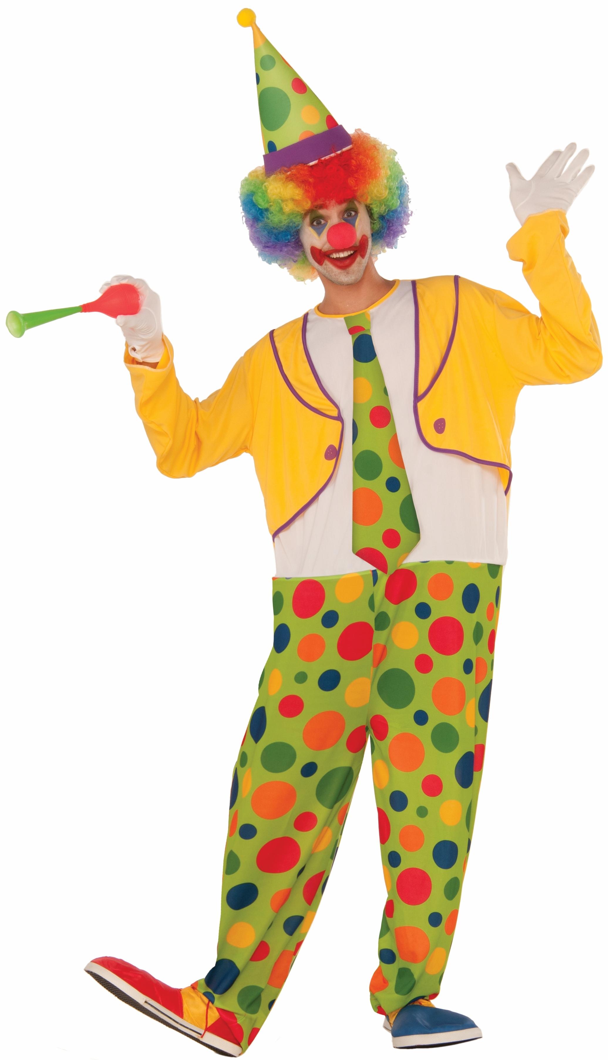 Костюм Радостного Клоуна (52-54) детский костюм клоуна весельчака 38