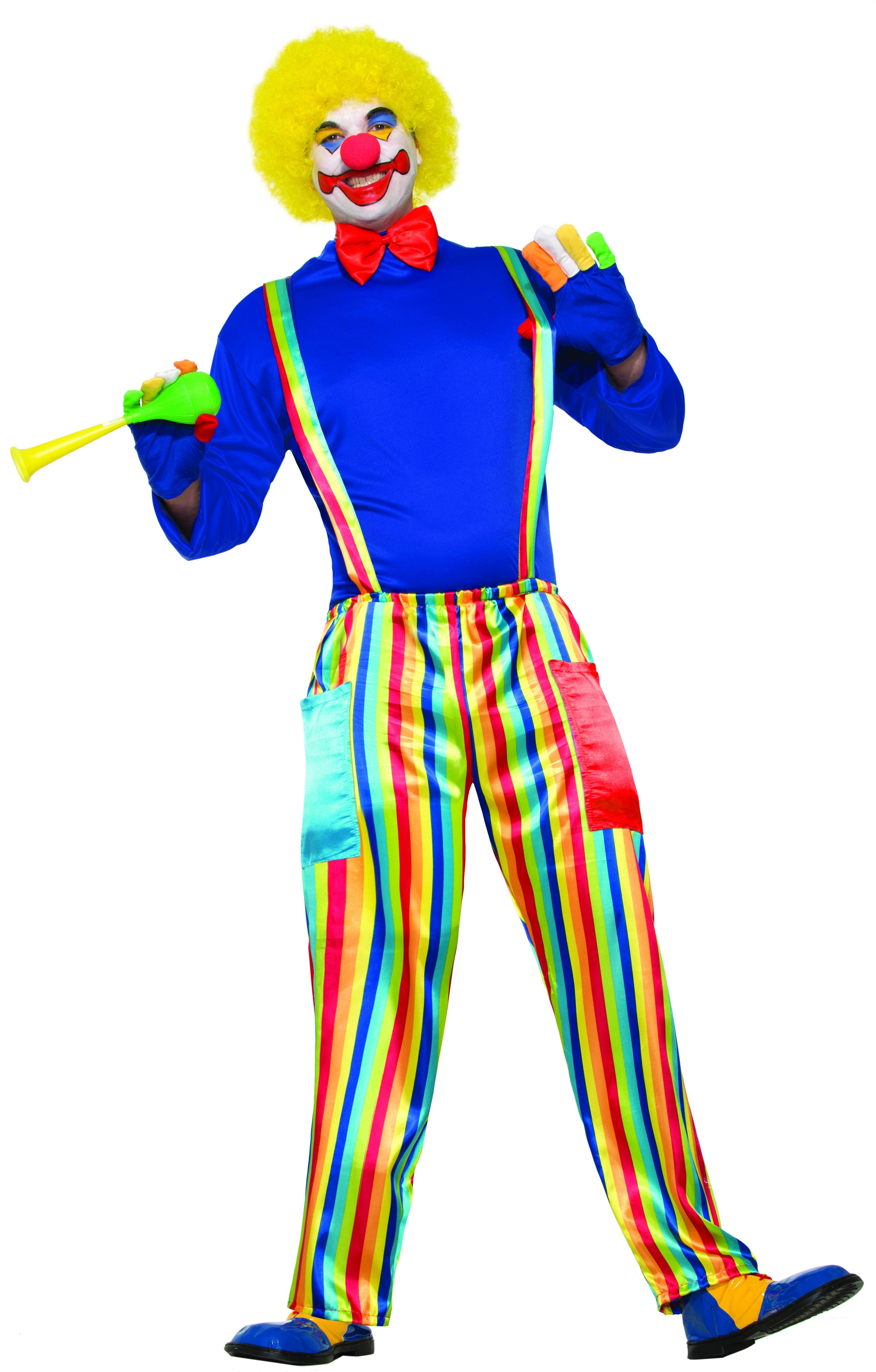 Костюм Карнавального клоуна (52-54) детский костюм клоуна весельчака 38