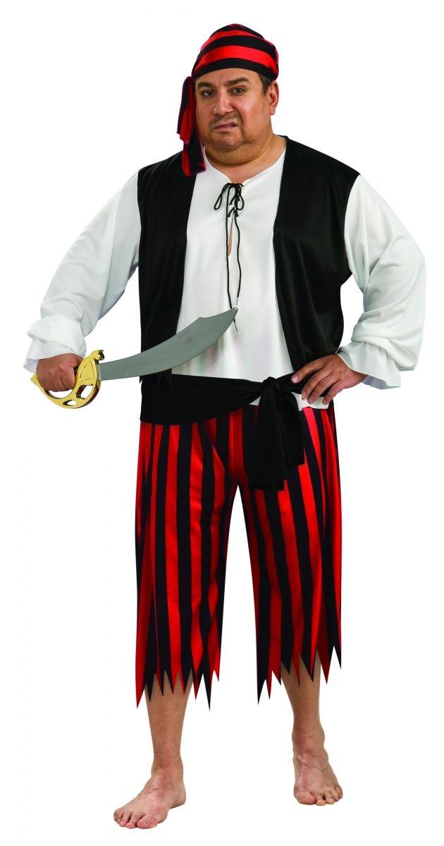 Костюм Мудрого пирата (52) театральный усы и бороду