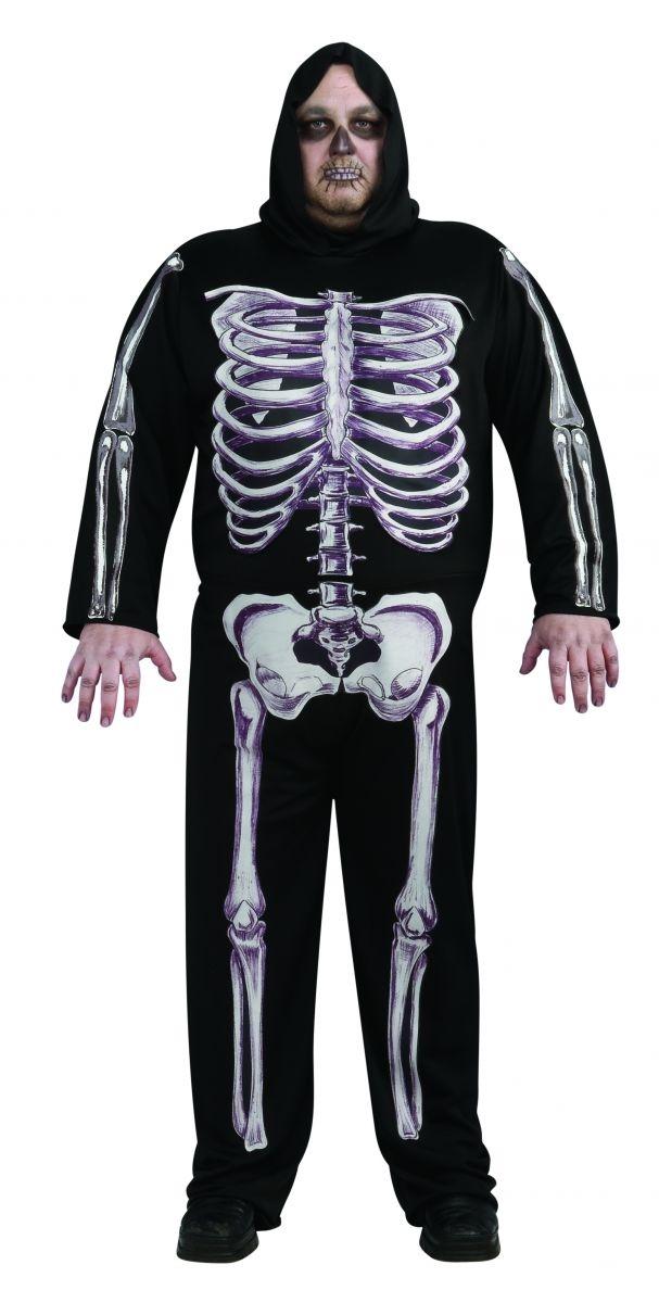 Костюм Скелета Мужчины (48-52) - Костюмы больших размеров, р.48-52