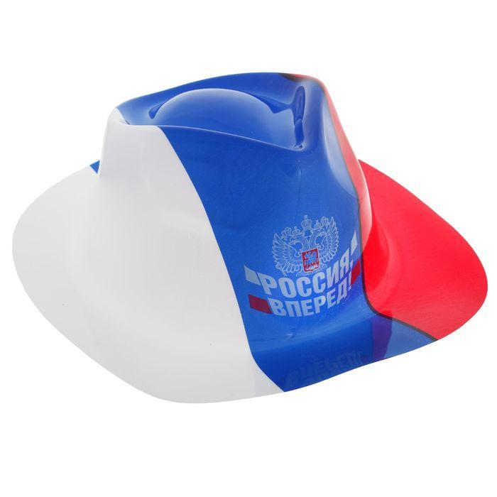 Шляпа Россия Вперед (UNI) -  Шляпы карнавальные