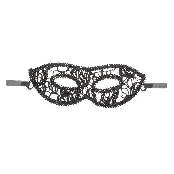 Ажурная маска (UNI) плюшевая маска зайки uni