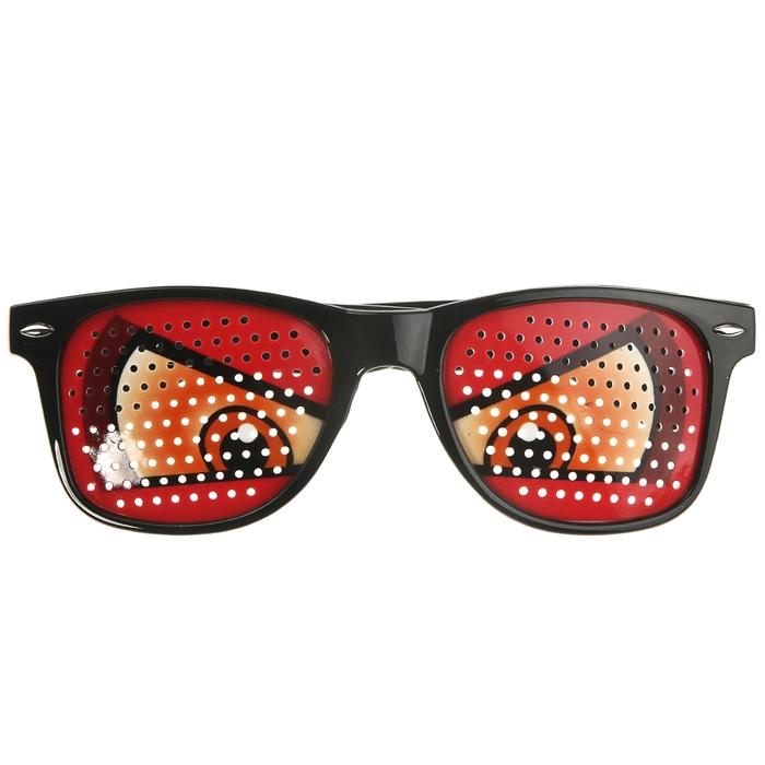 Детские очки злые глаза (UNI)