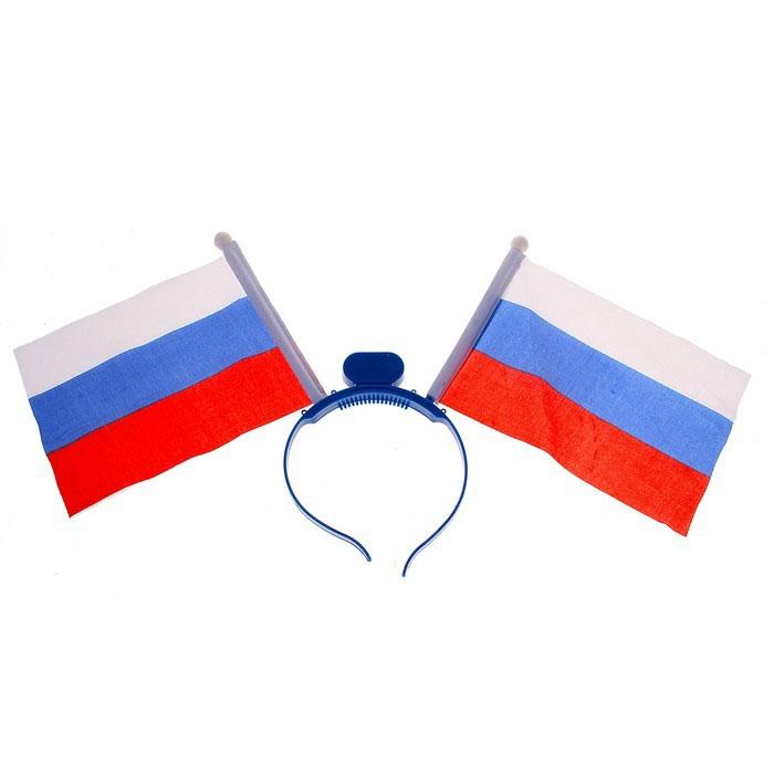 Светящийся ободок Россия (UNI) -  Спорт
