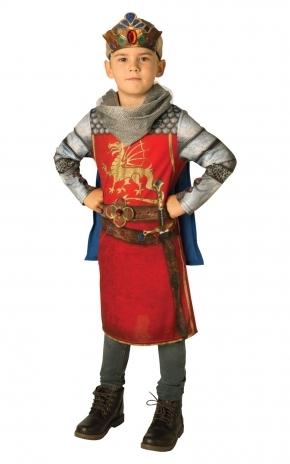 Детский костюм Величественного Короля Артура (L) - Исторические костюмы