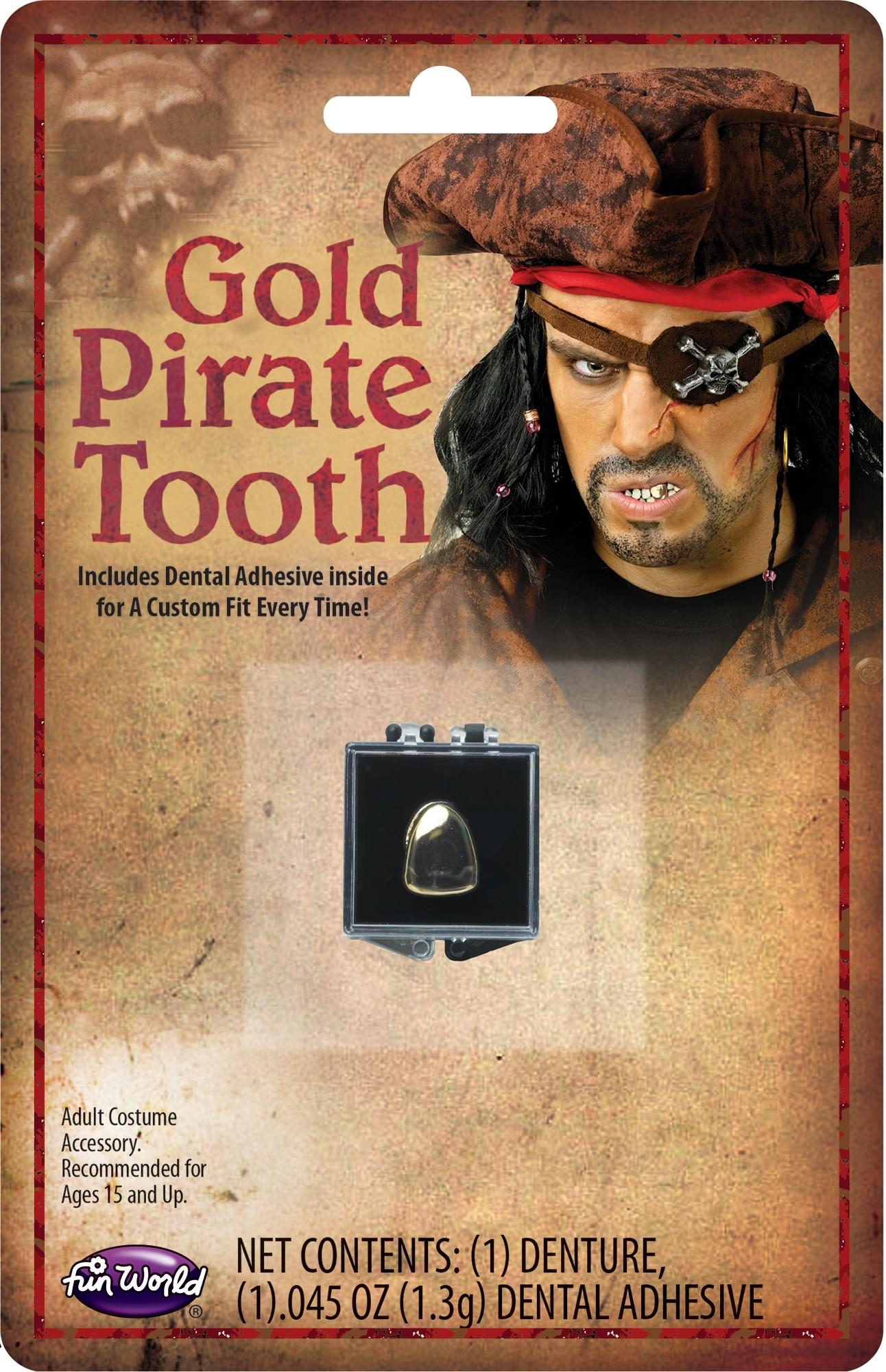 Золотой зуб пирата (UNI) -  Пираты и моряки