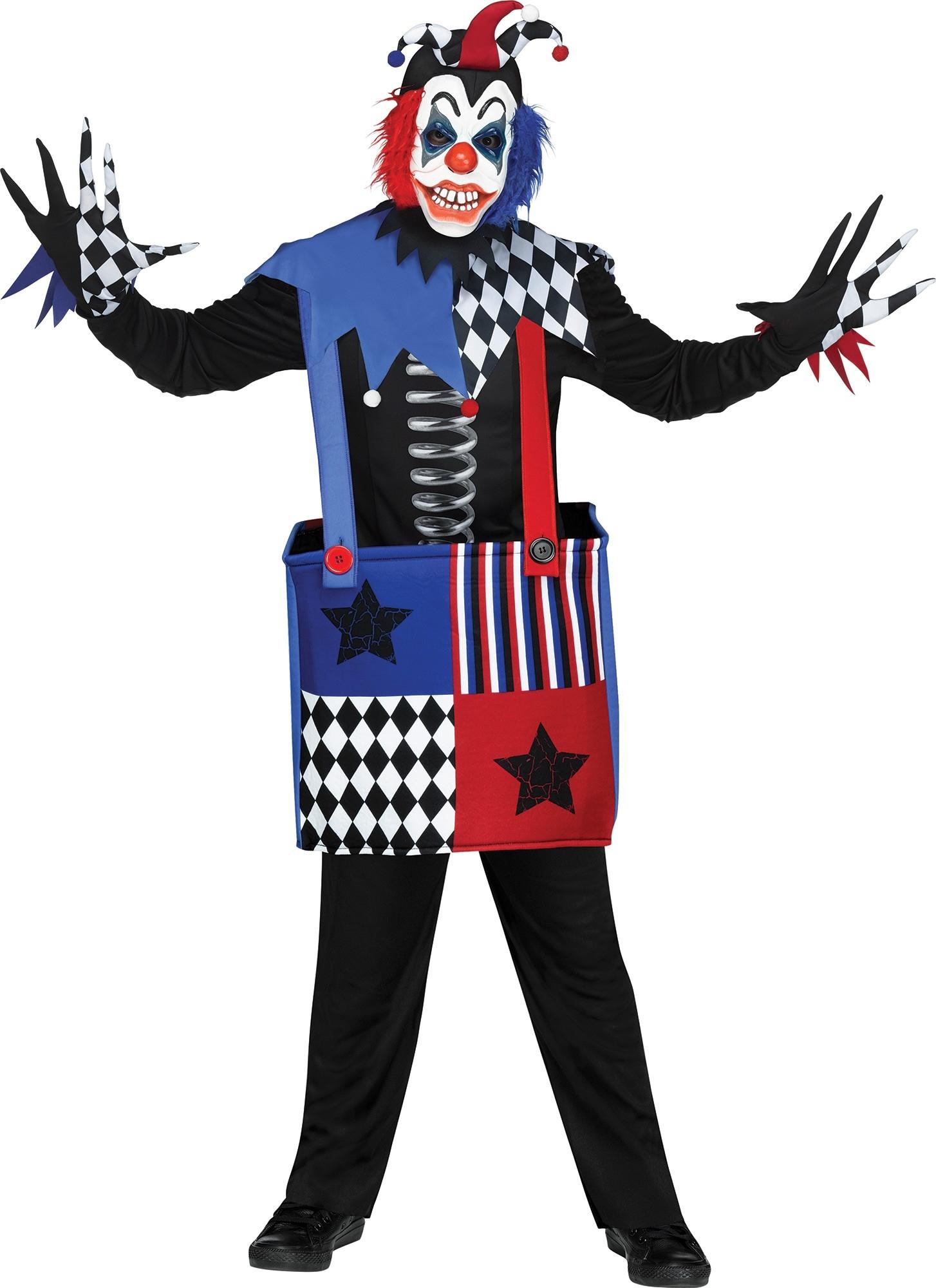 Детский костюм Черта из коробки (34-38) детский костюм клоуна весельчака 38