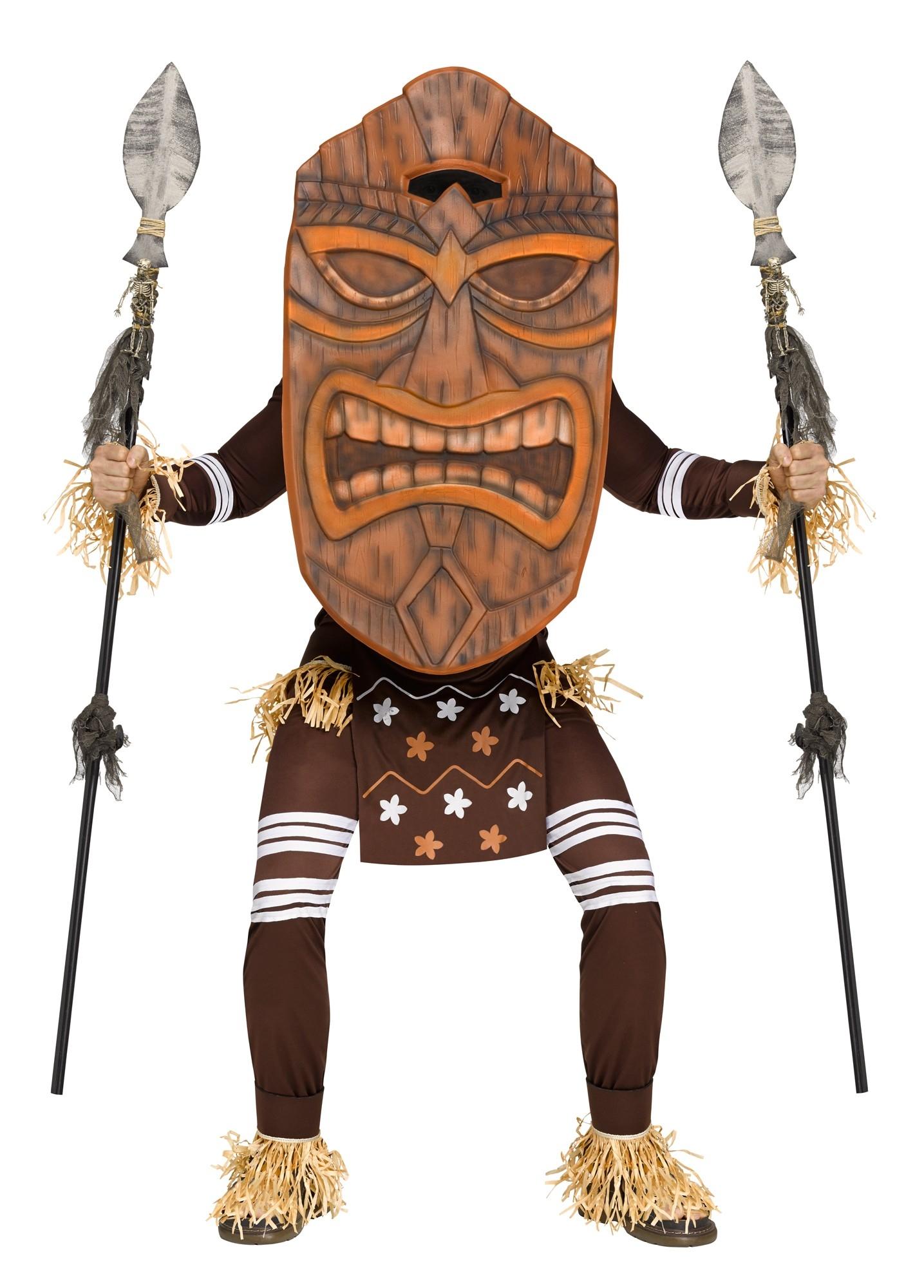 Костюм Гавайского божества (46) - Национальные костюмы, р.46