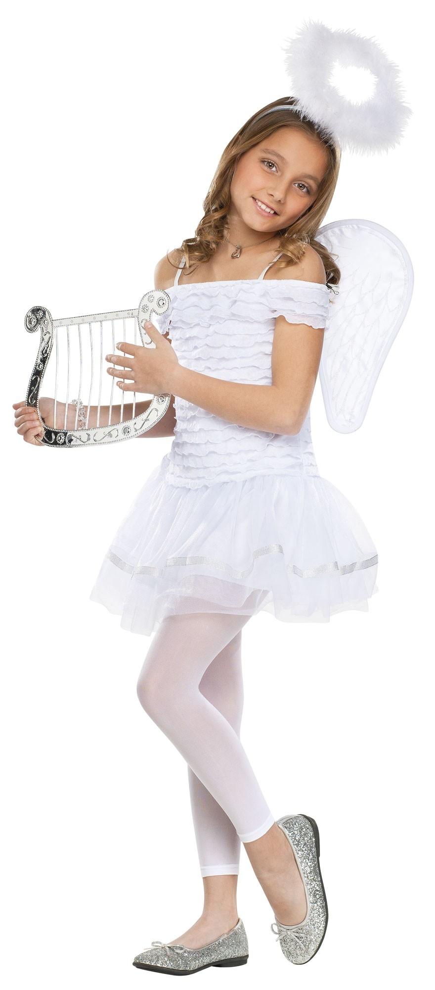 Детский костюм Белого Ангелочка (34-38) детский костюм клоуна весельчака 38