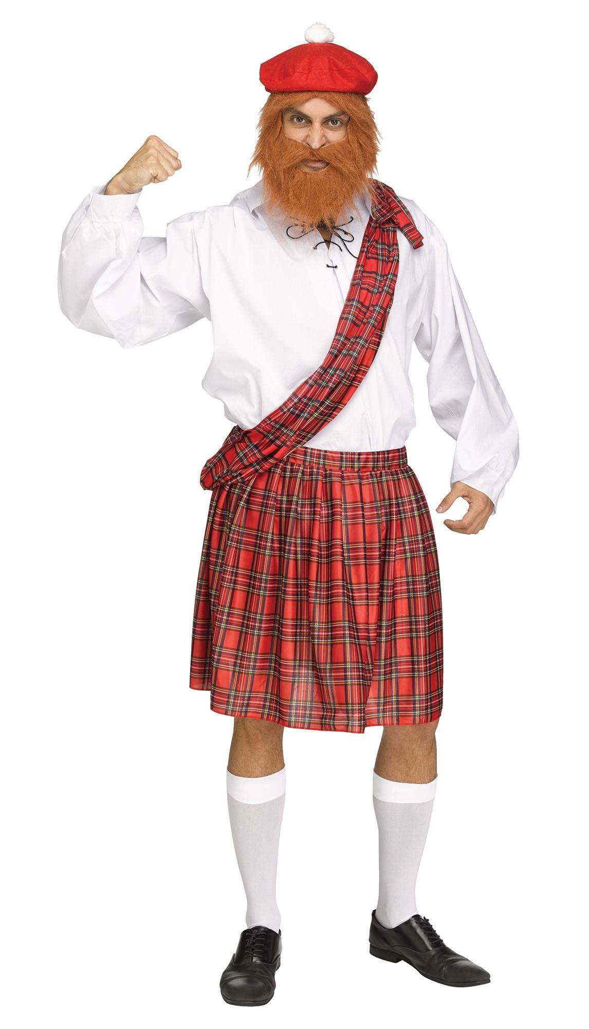 Костюм Шотландца с сюрпризом (42-48) костюм озорного клоуна 42 48