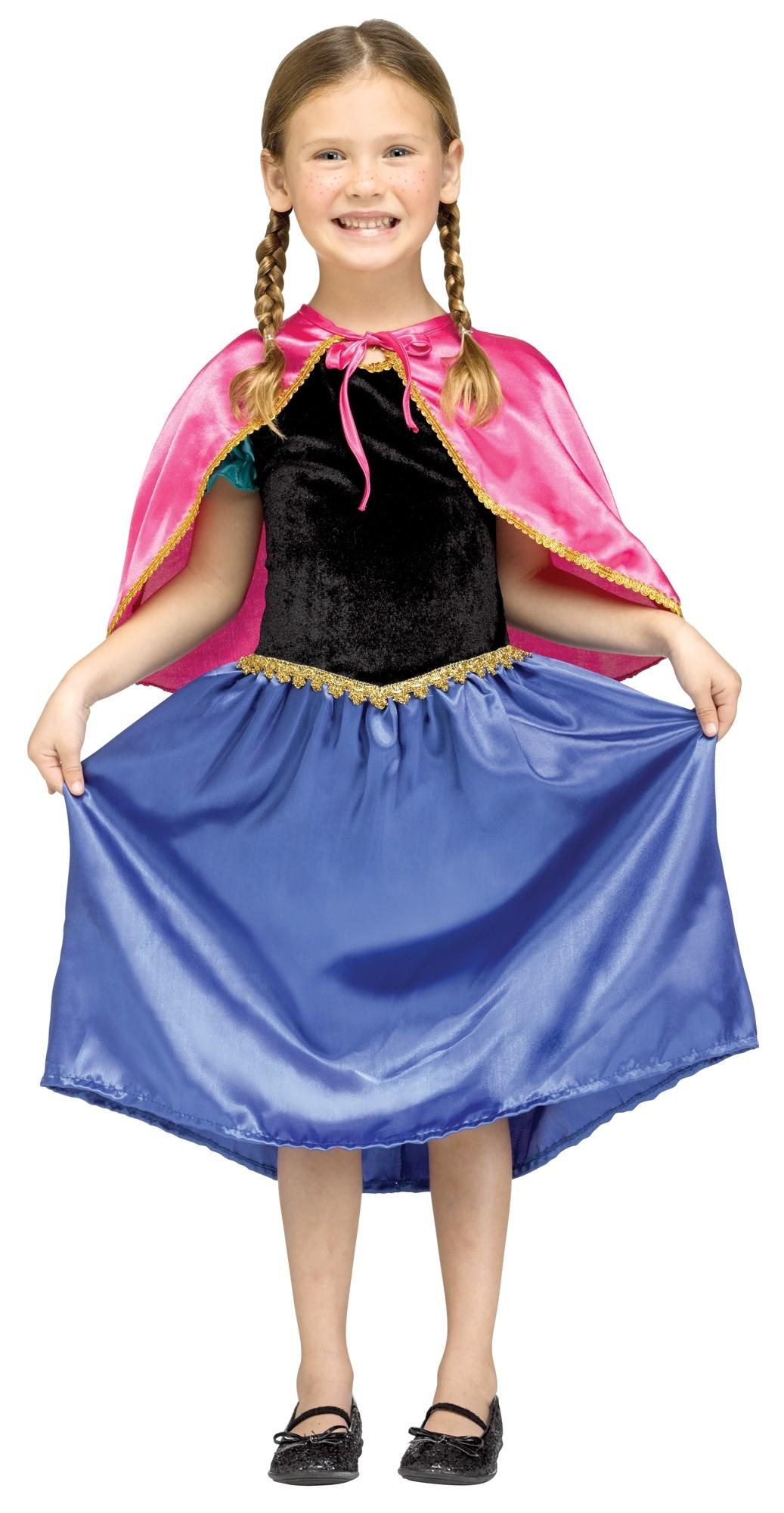 Детский костюм Анны (32-34) детский костюм фиолетовой феи виндс 34