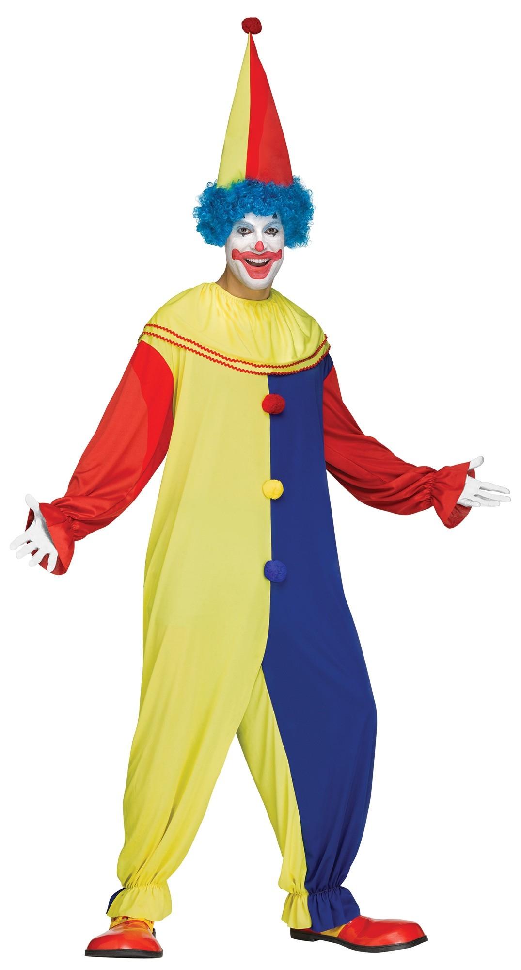 Костюм Озорного Клоуна (42-48) детский костюм клоуна весельчака 38
