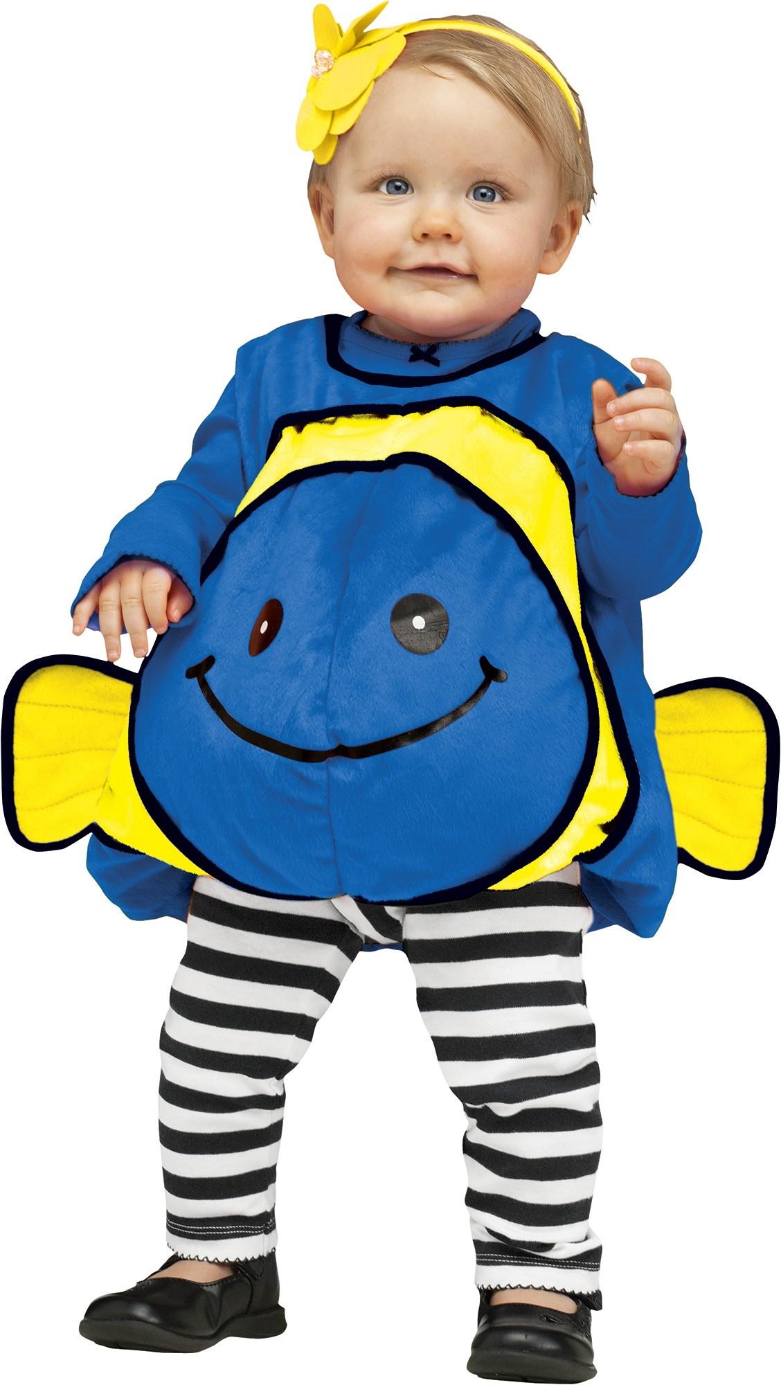Костюм синей рыбки для малыша (24-26) костюм пони 24 26
