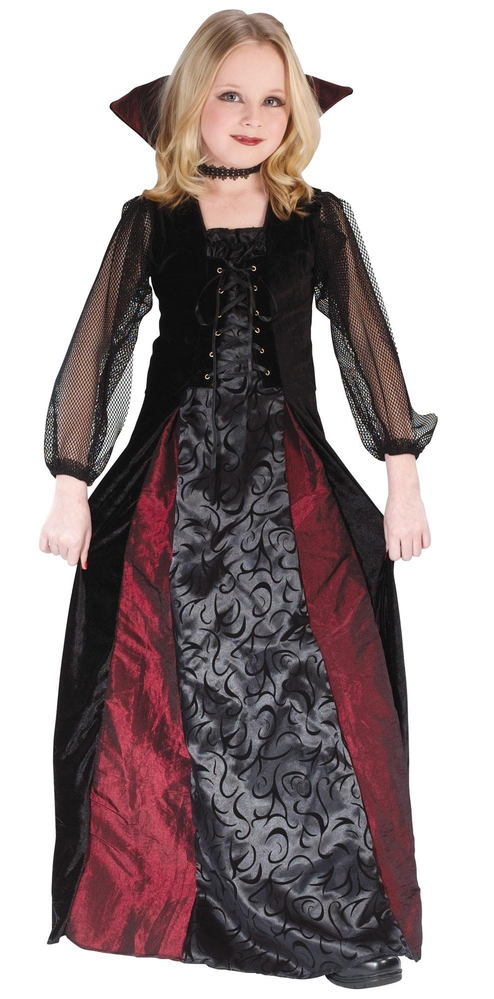 Детский костюм Мрачной Вампирши (40)