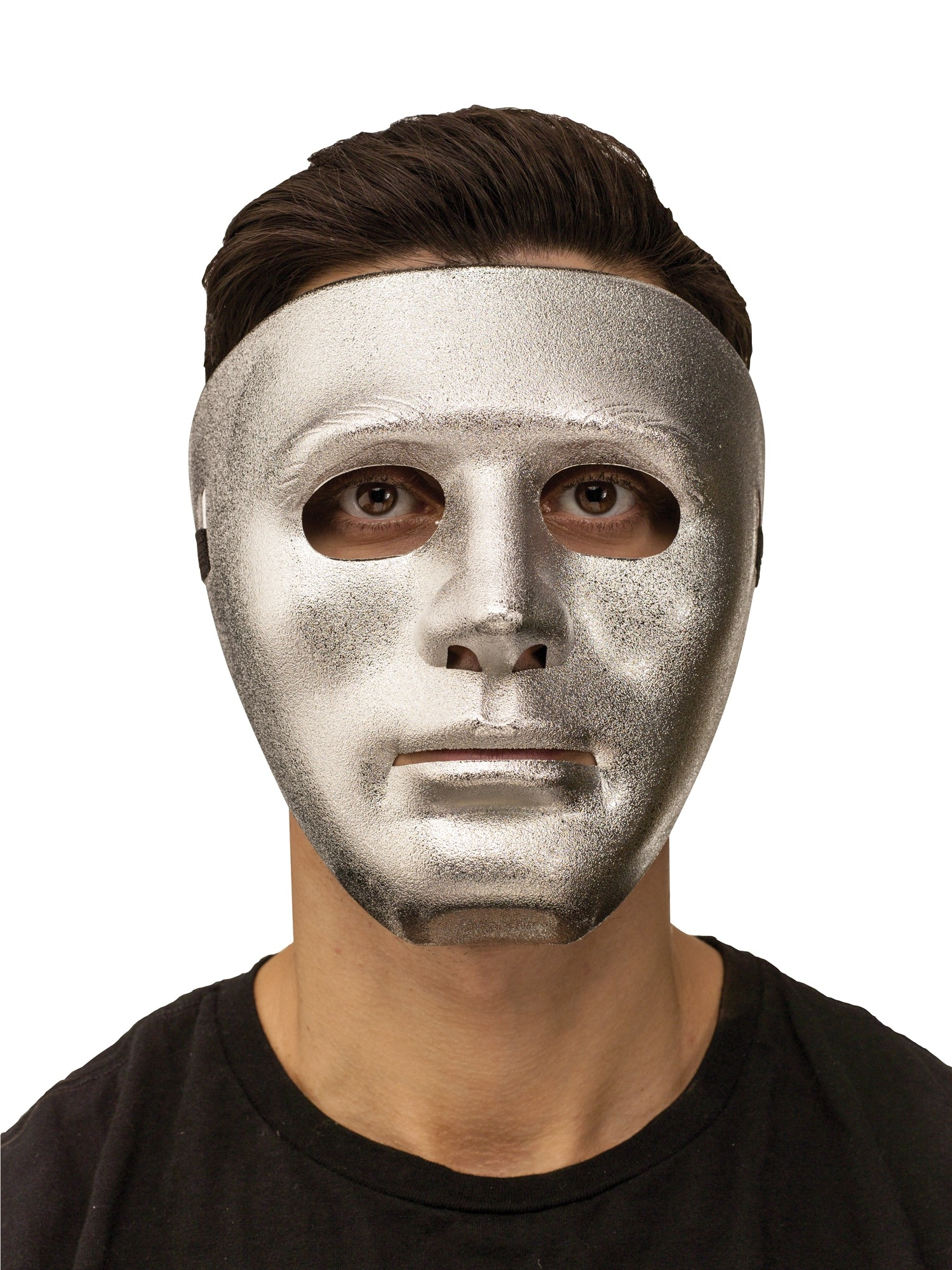 Серебряная маска (UNI) плюшевая маска зайки uni